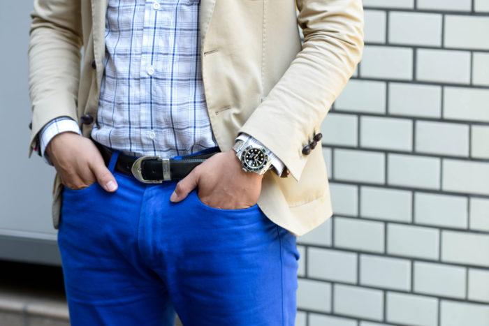 藤岡さんの腕時計はロレックス サブマリーナ デイト 116610LN