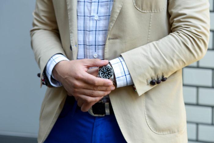 一級建築士の試験合格の記念に購入した腕時計