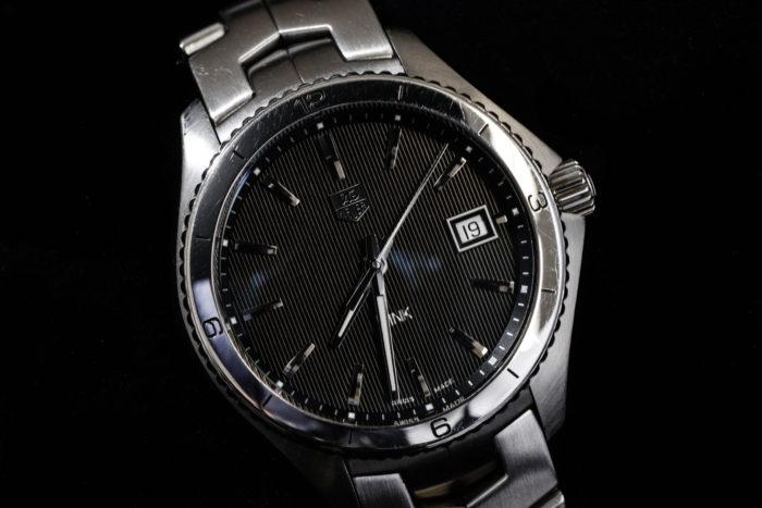 池澤さんの腕時計はタグホイヤーのリンク