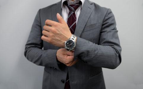池澤さんの腕時計はタグ・ホイヤーのリンク