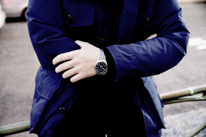 カズフミさんの腕時計はIWCのマークXVI