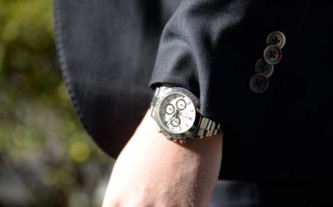 Mさんの腕時計はロレックスのデイトナ