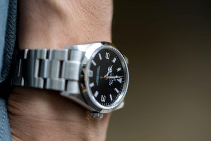 洋服好きの延長で腕時計に興味を持った佐藤さん