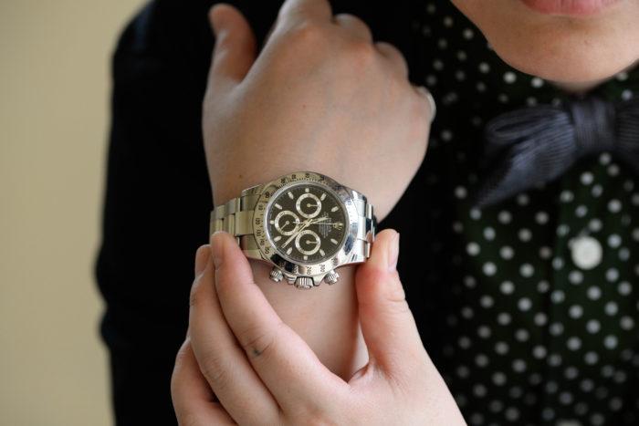 この腕時計にふさわしく最高な時間を過ごせるように
