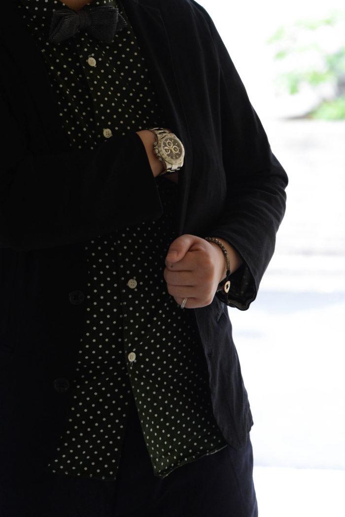 ロレックス デイトナ 116520を着用するkamezoさん3