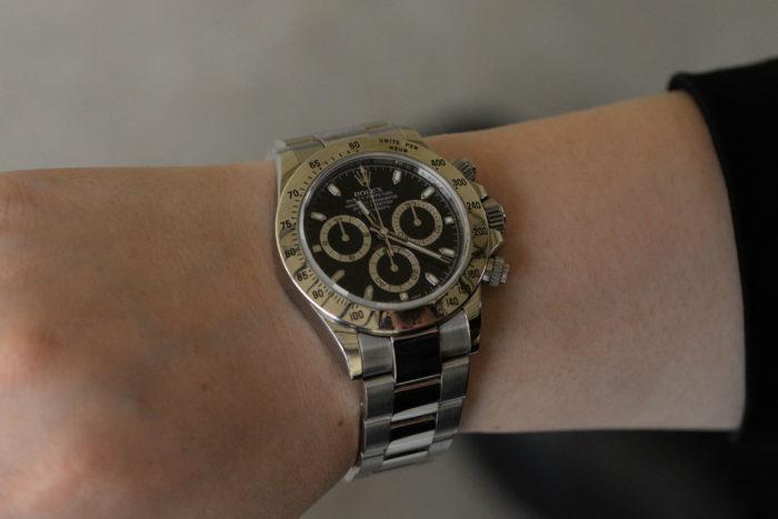 腕時計好きの祖父から影響をうけた