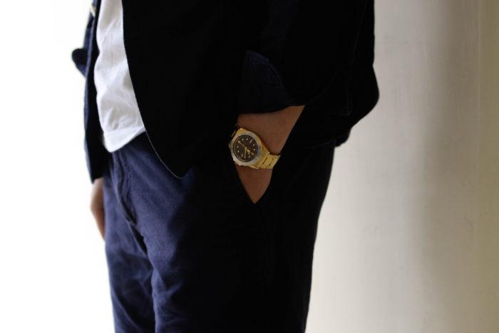 父親が記念に購入した腕時計