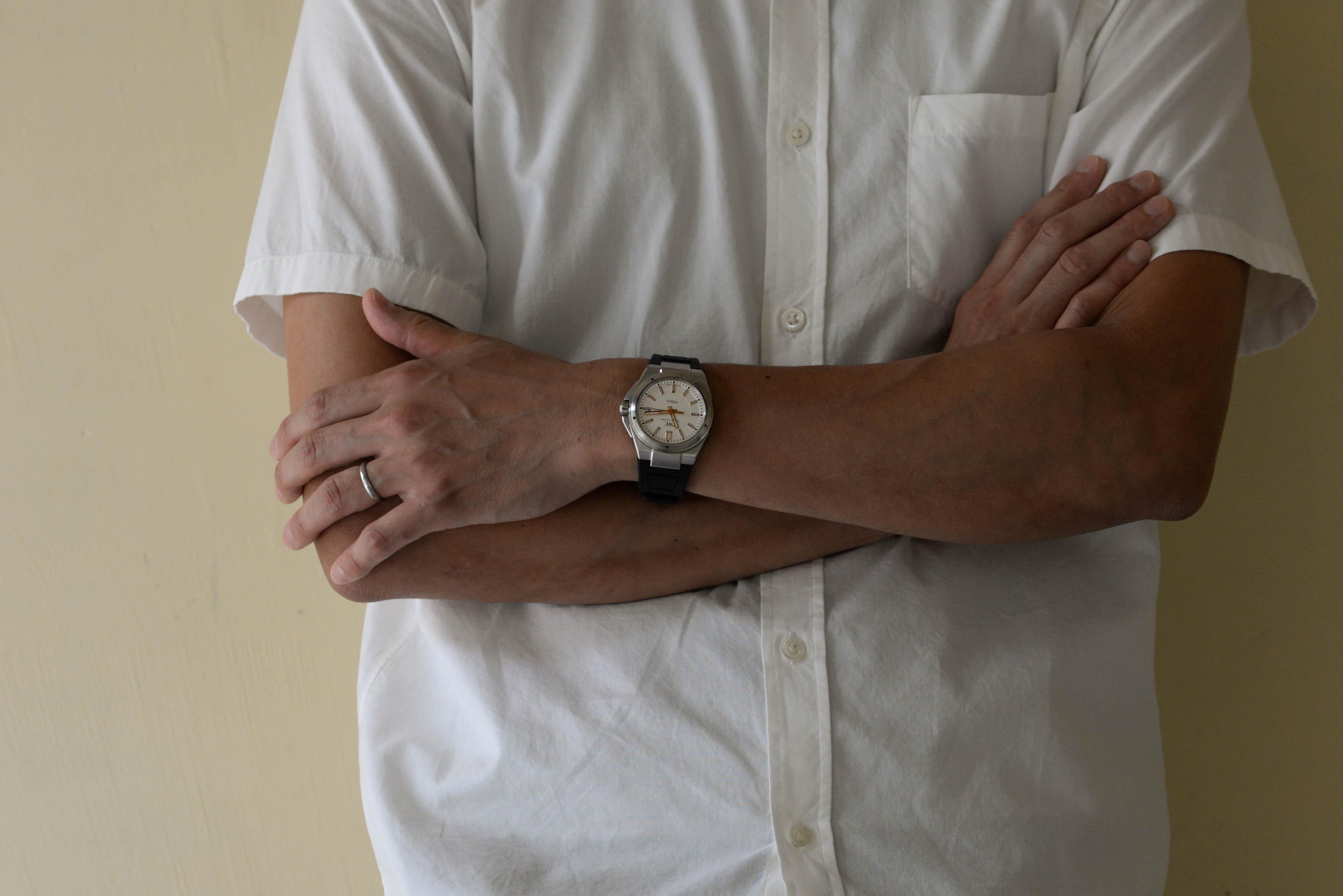 浅見さんの腕時計はIWCのインヂュニア オートマティック