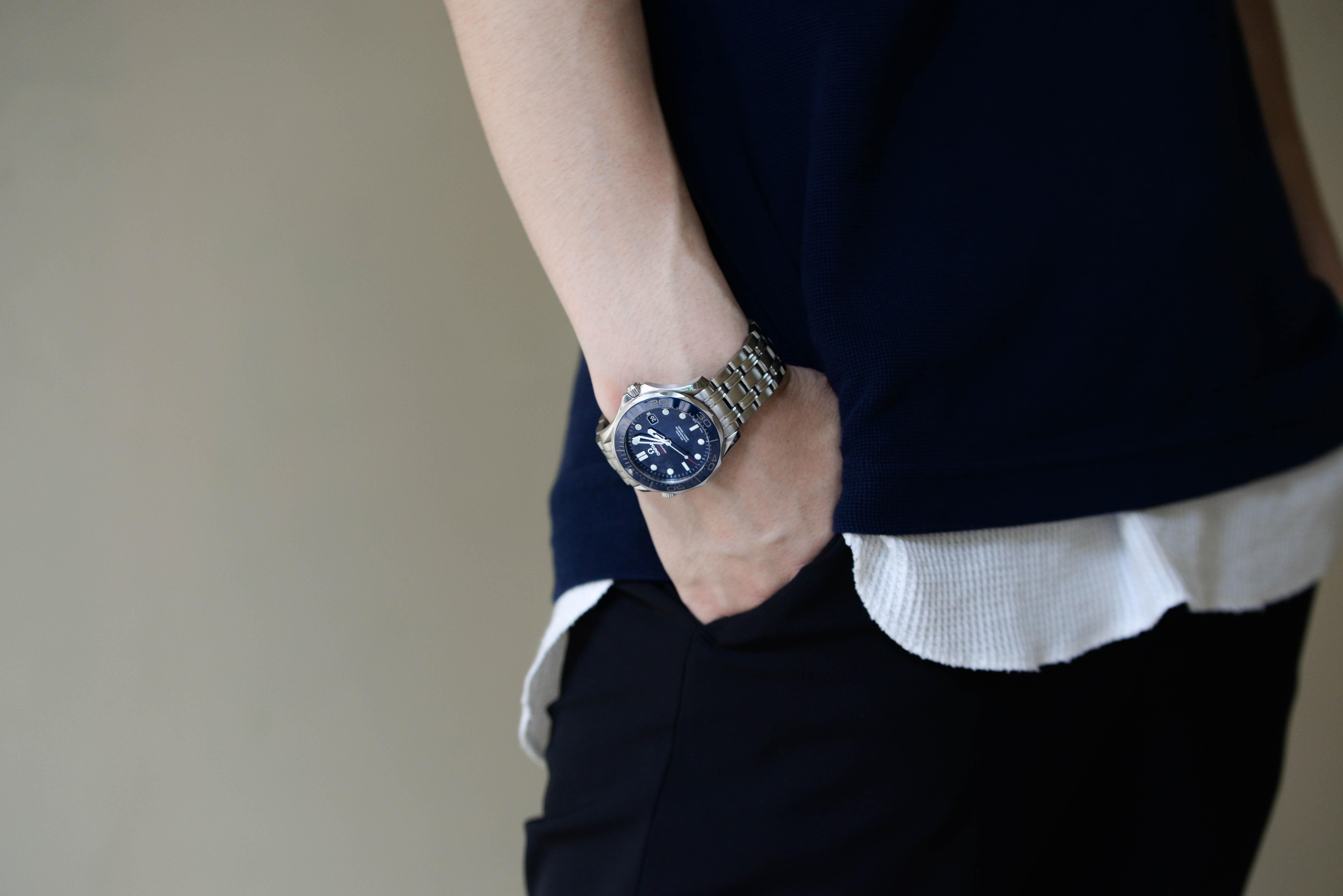 買取業者という仕事柄、腕時計に触れる機会も多い