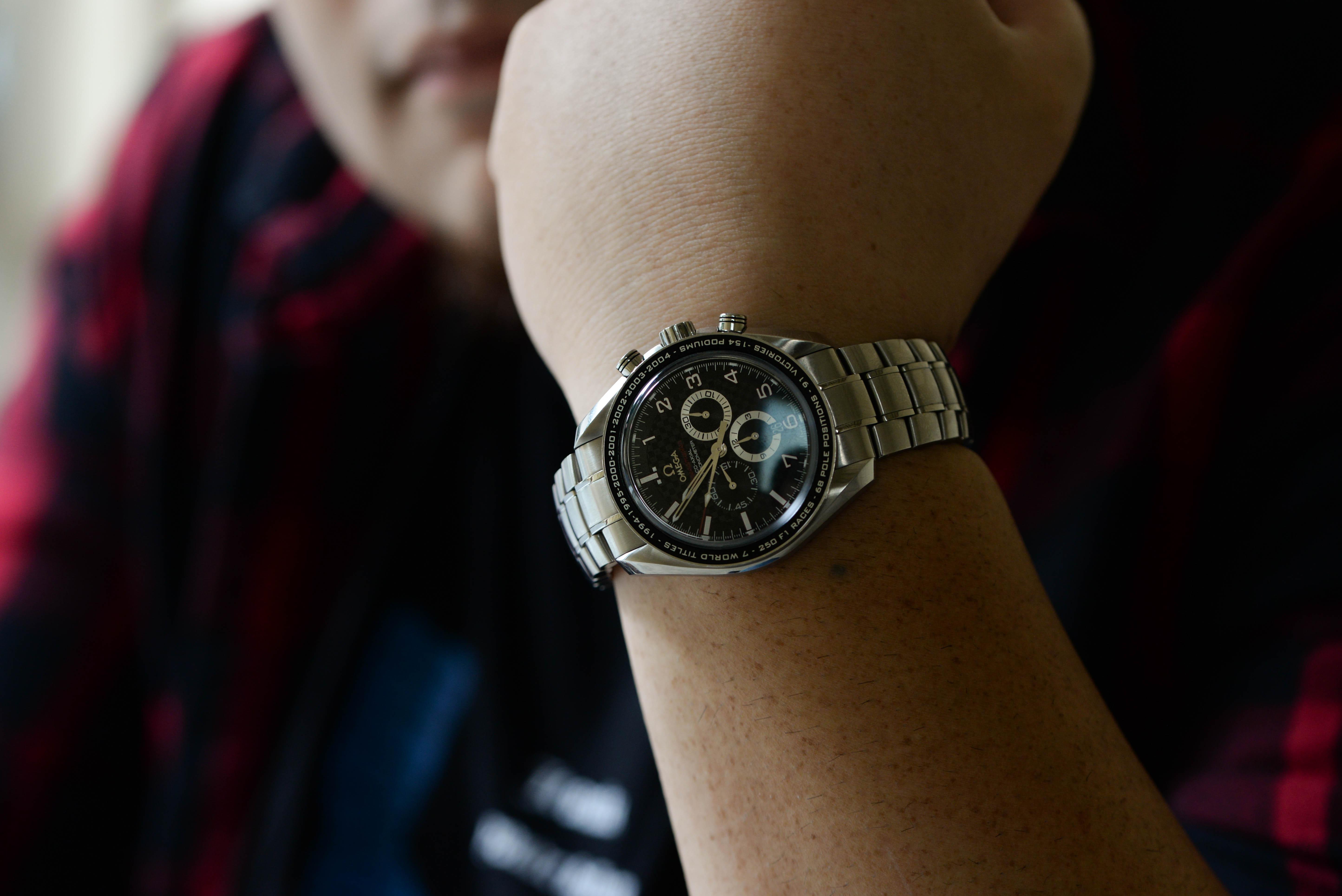 社会人になり、腕時計の必要性が出てきた