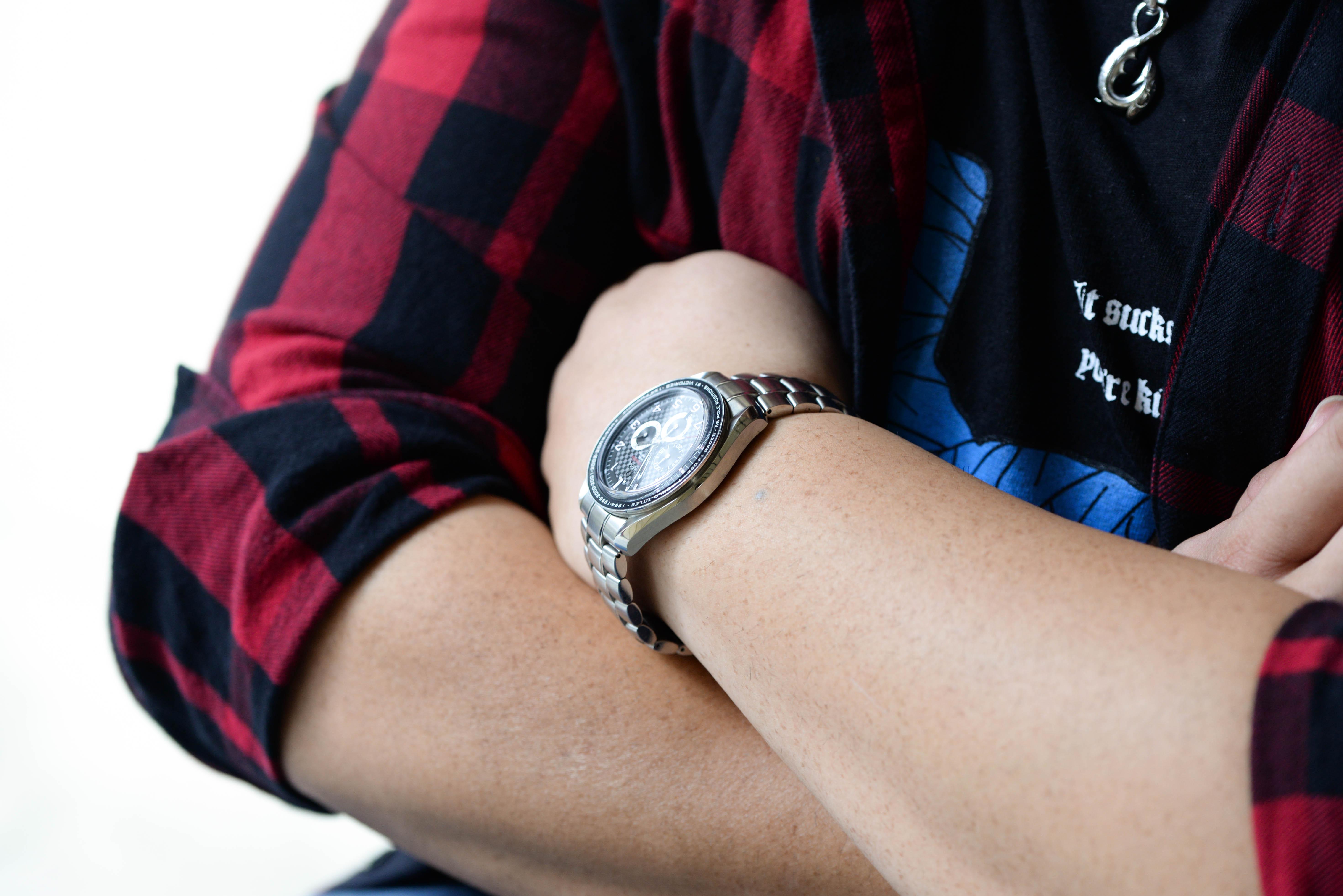 king.doggieさんの腕時計はスピードマスター コーアクシャル クロノグラフ M・シューマッハ
