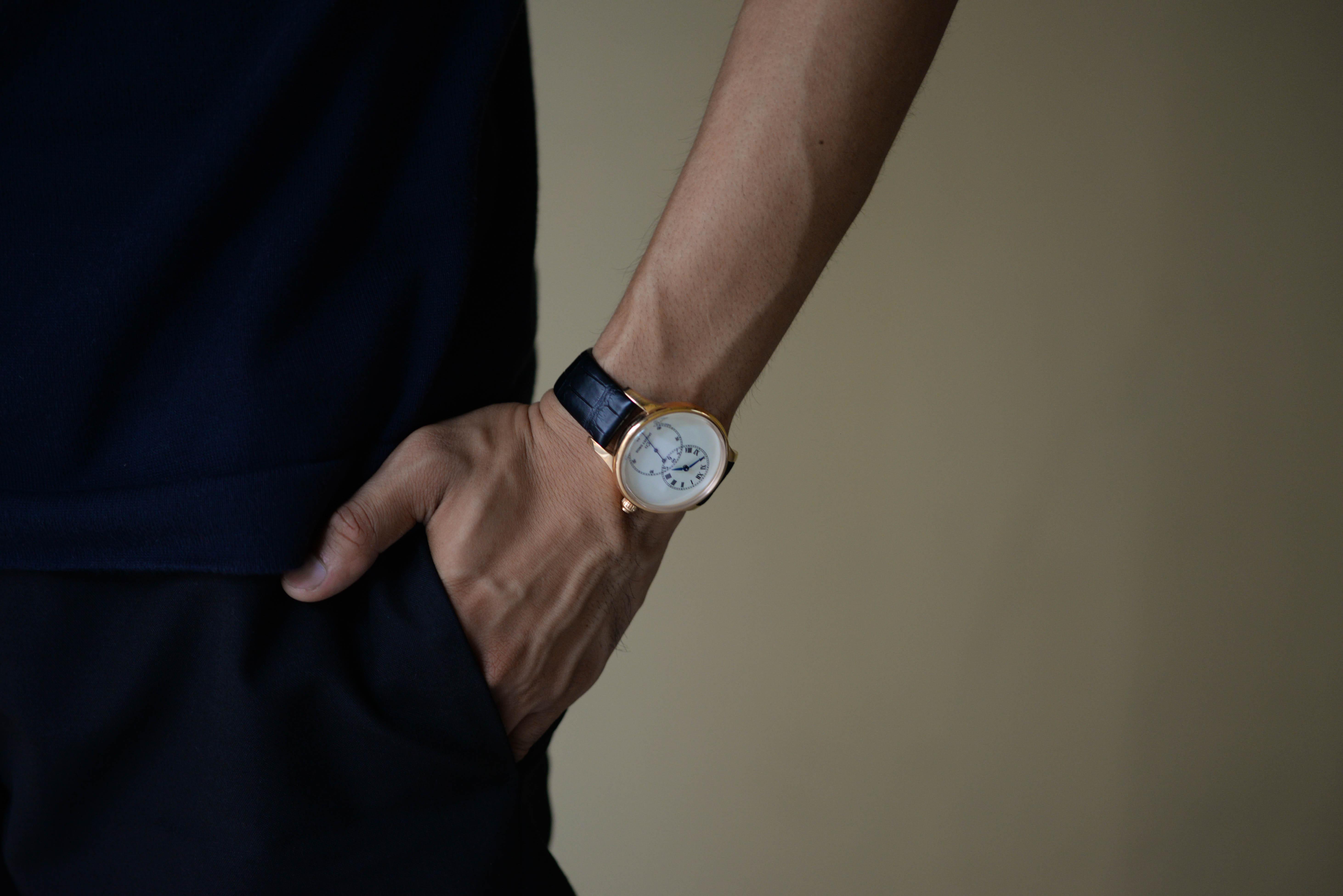 腕時計について先輩からアドバイスをもらった
