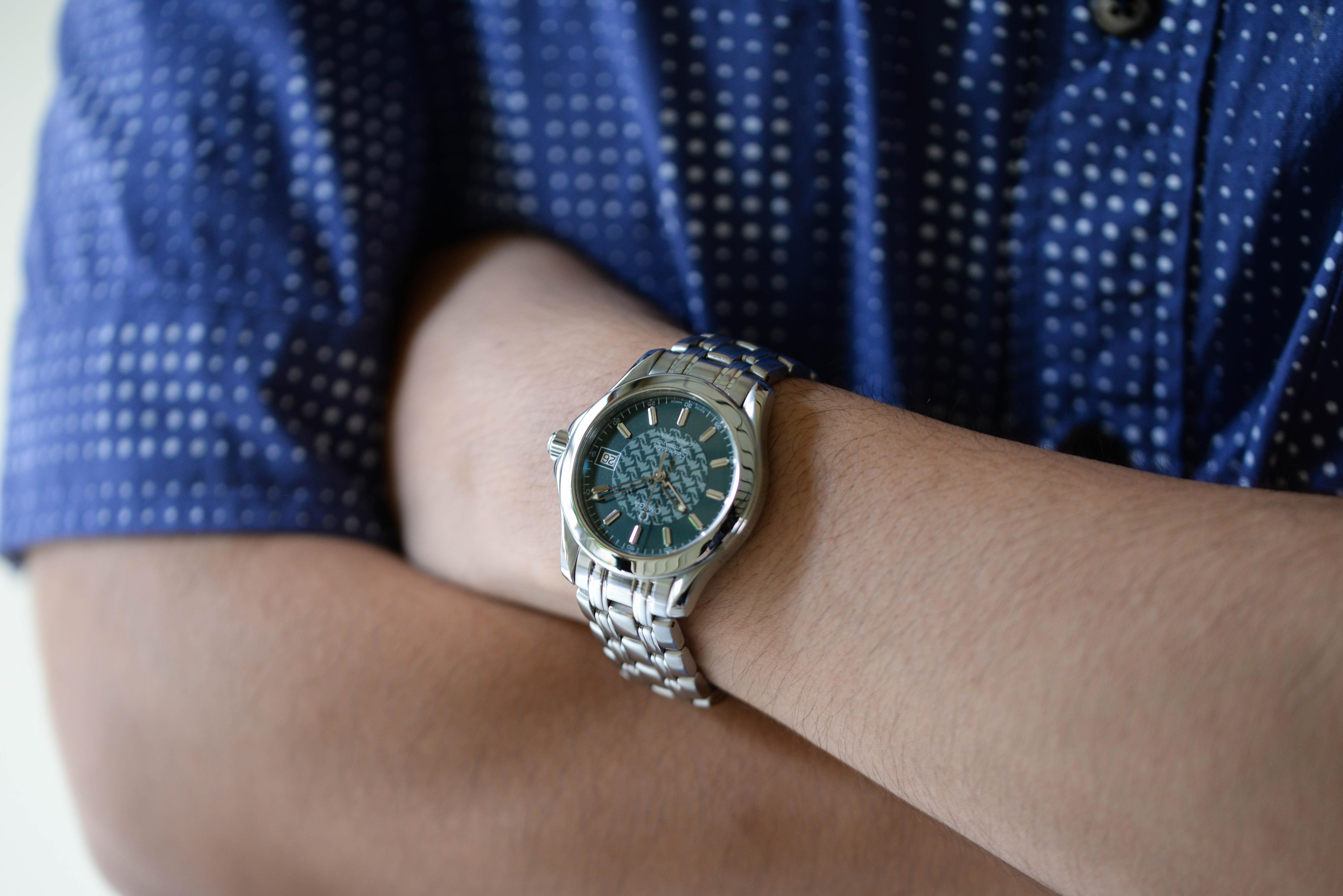 松井さんの腕時計はオメガ ジャックマイヨール Ref.2506.70