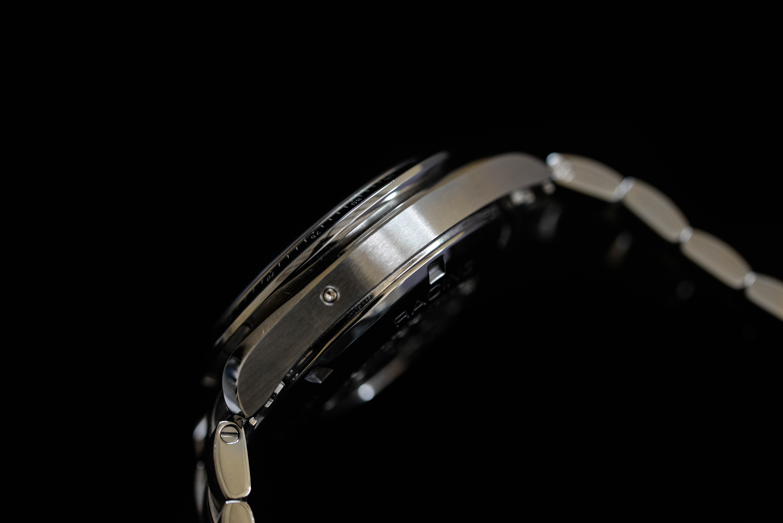 この腕時計に決めた理由は、フィーリングが大きい
