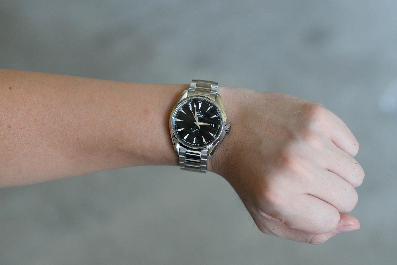 super popular 46220 5cc94 主任への昇進祝いで購入した腕時計は、オメガ シーマスター ...