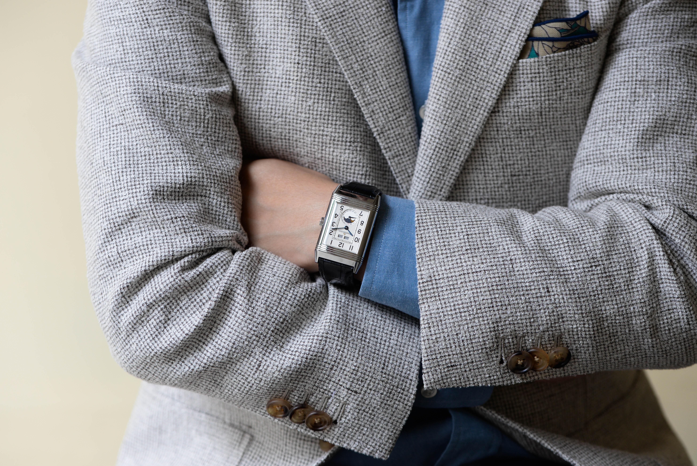 gijigoさんの腕時計はグランドレベルソ カレンダー