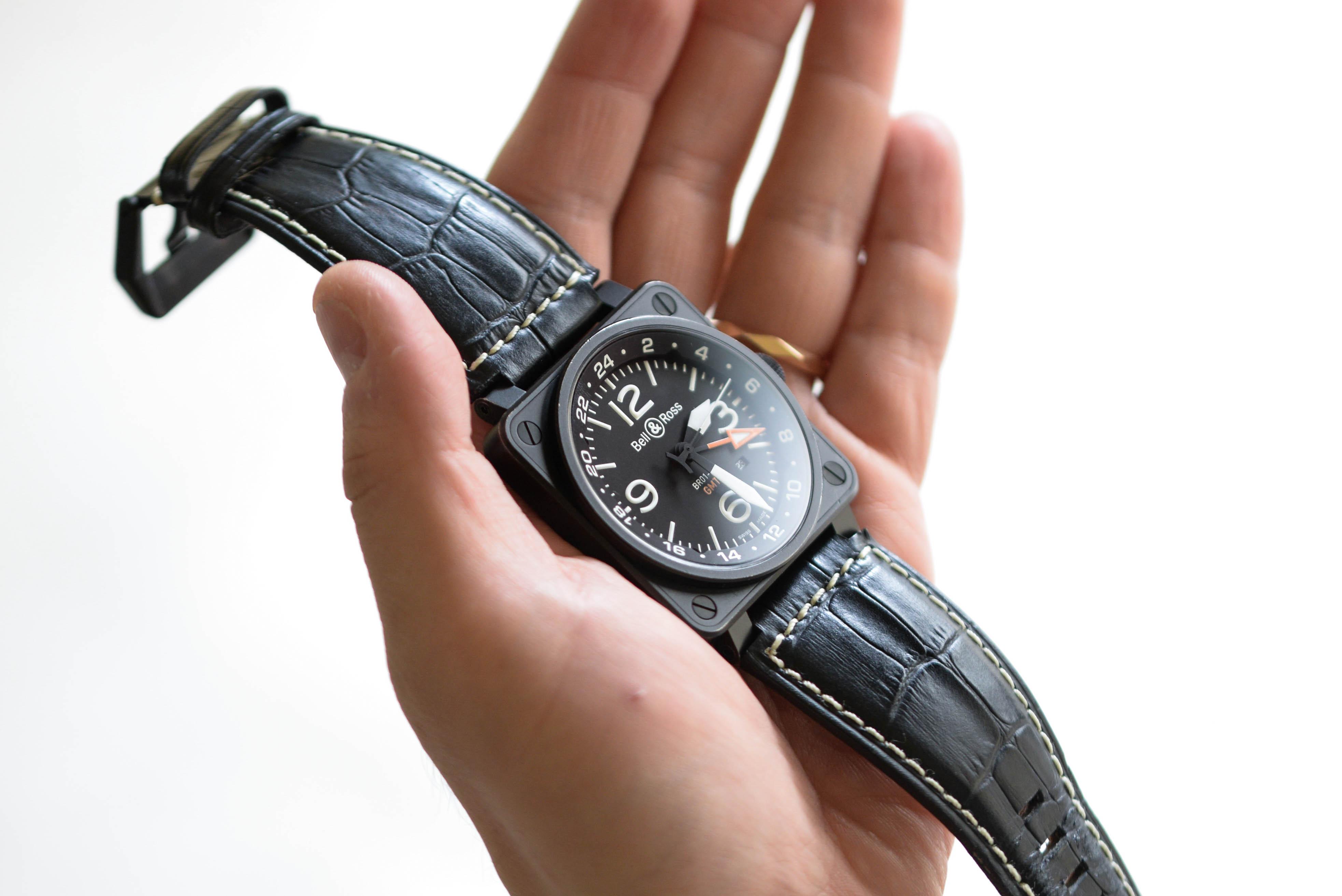 ベル&ロス Ref.BR01-93 GMT-Rを着用する西岡さん画像5