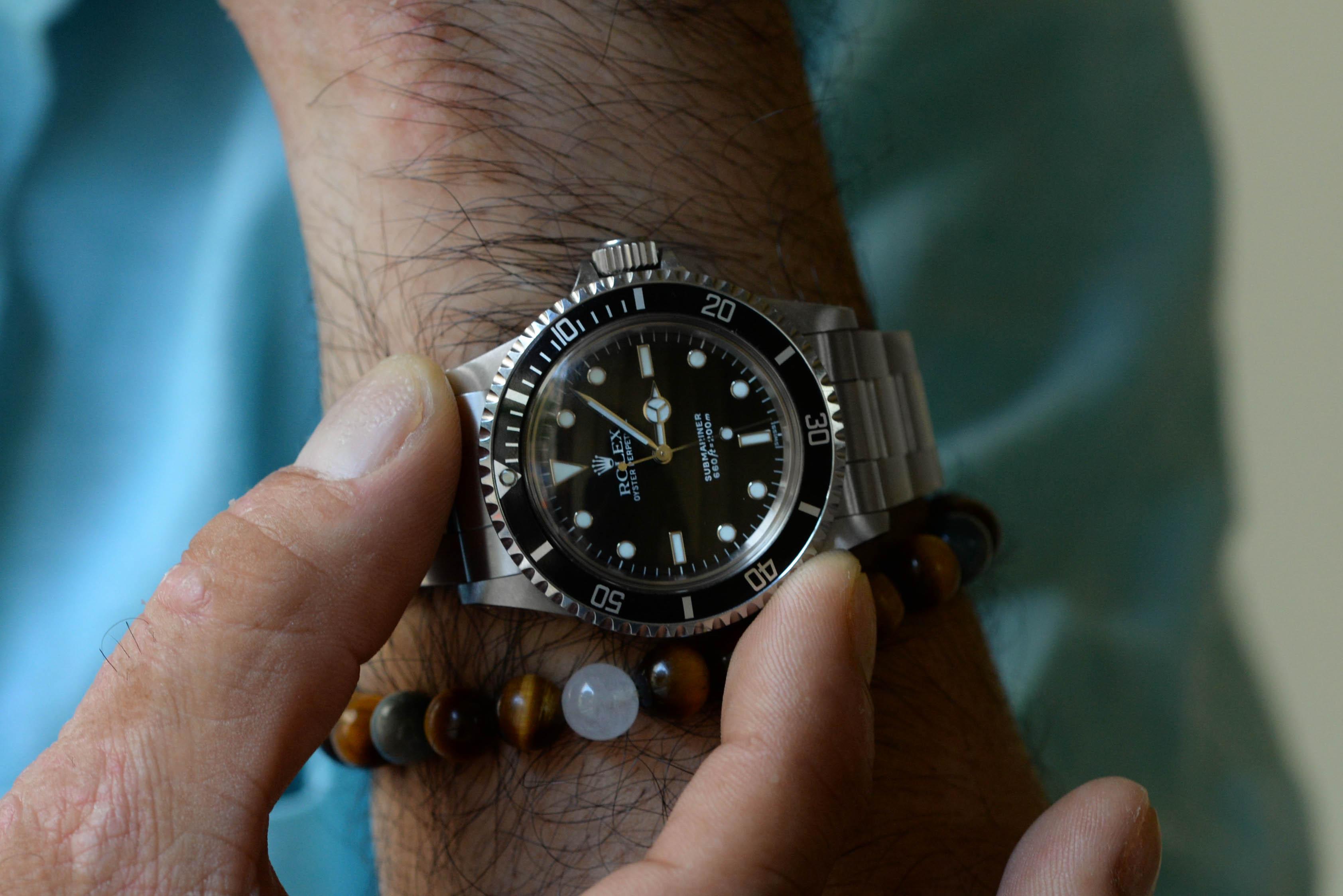 腕時計にも興味がありました