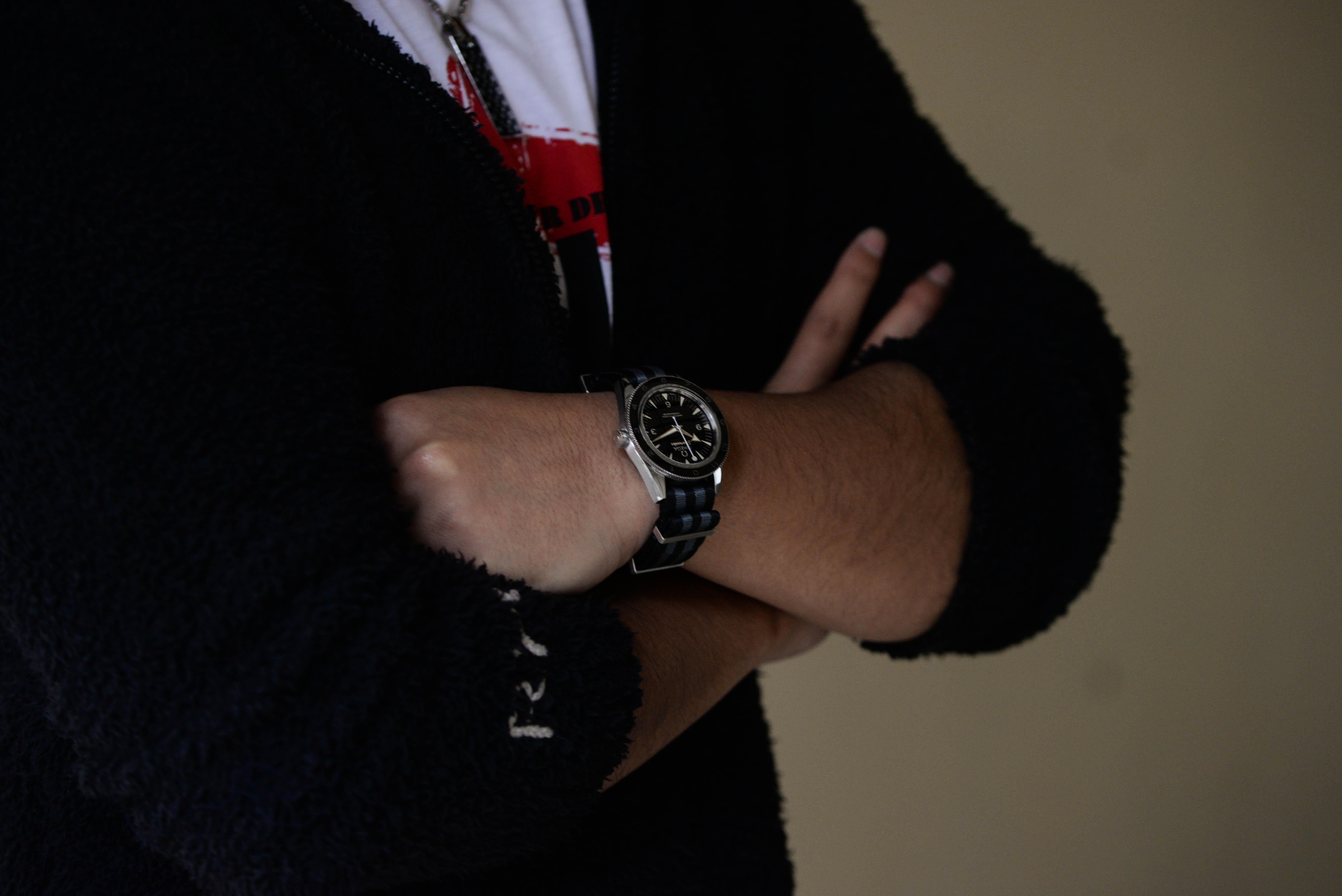 Sさんの腕時計はシーマスター 300