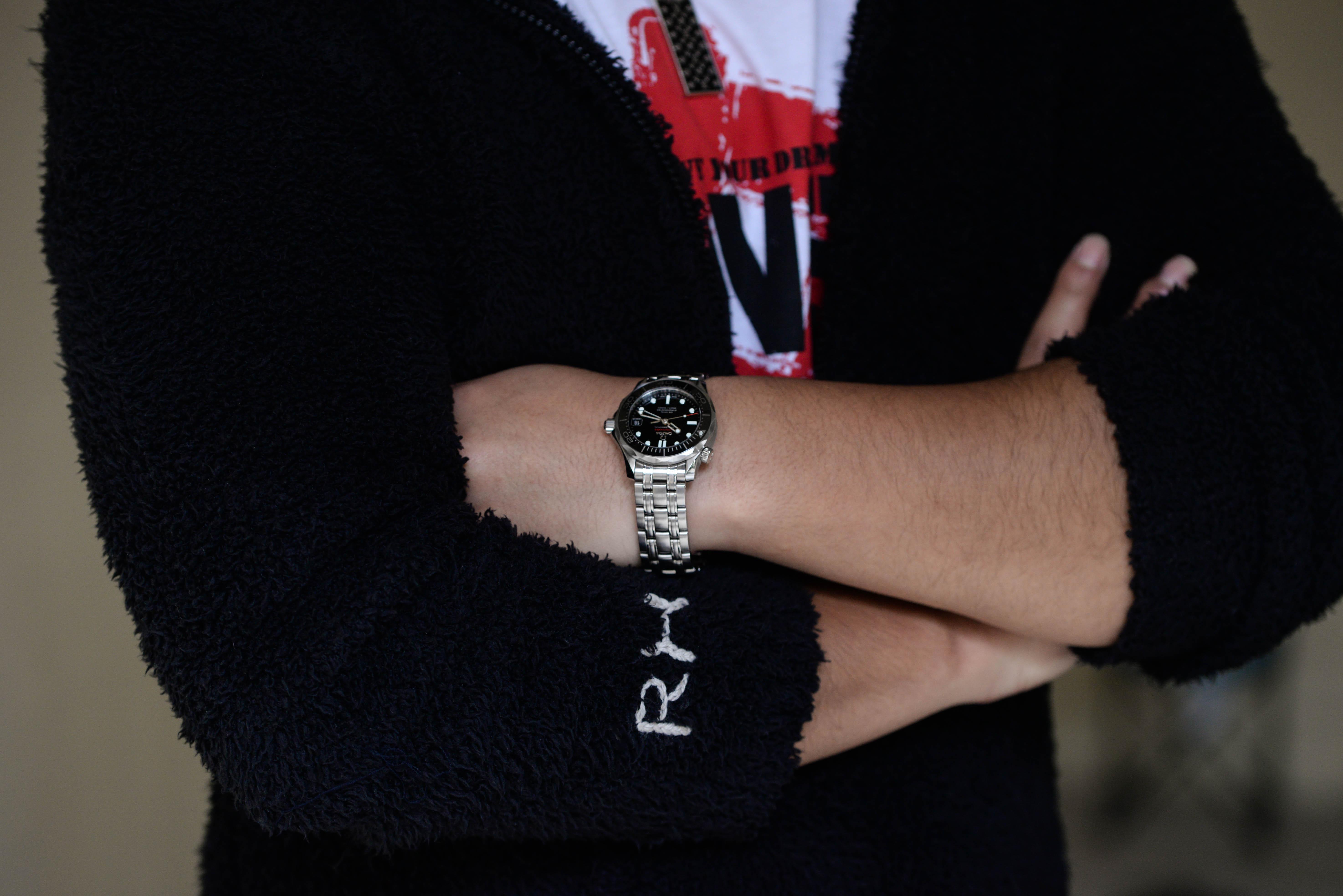 Sさんの腕時計はオメガ シーマスター 300 コーアクシャル