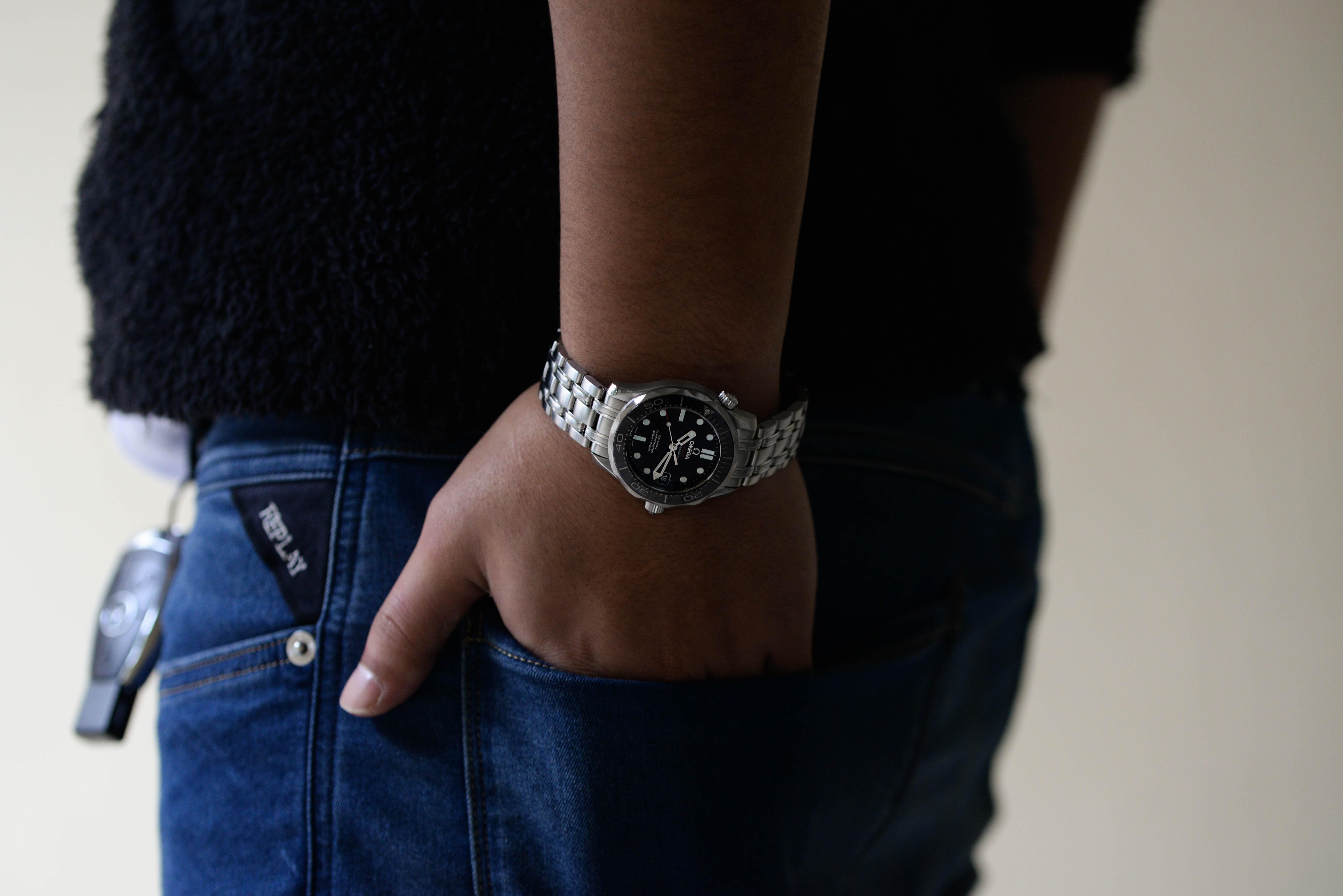 初めて購入した腕時計