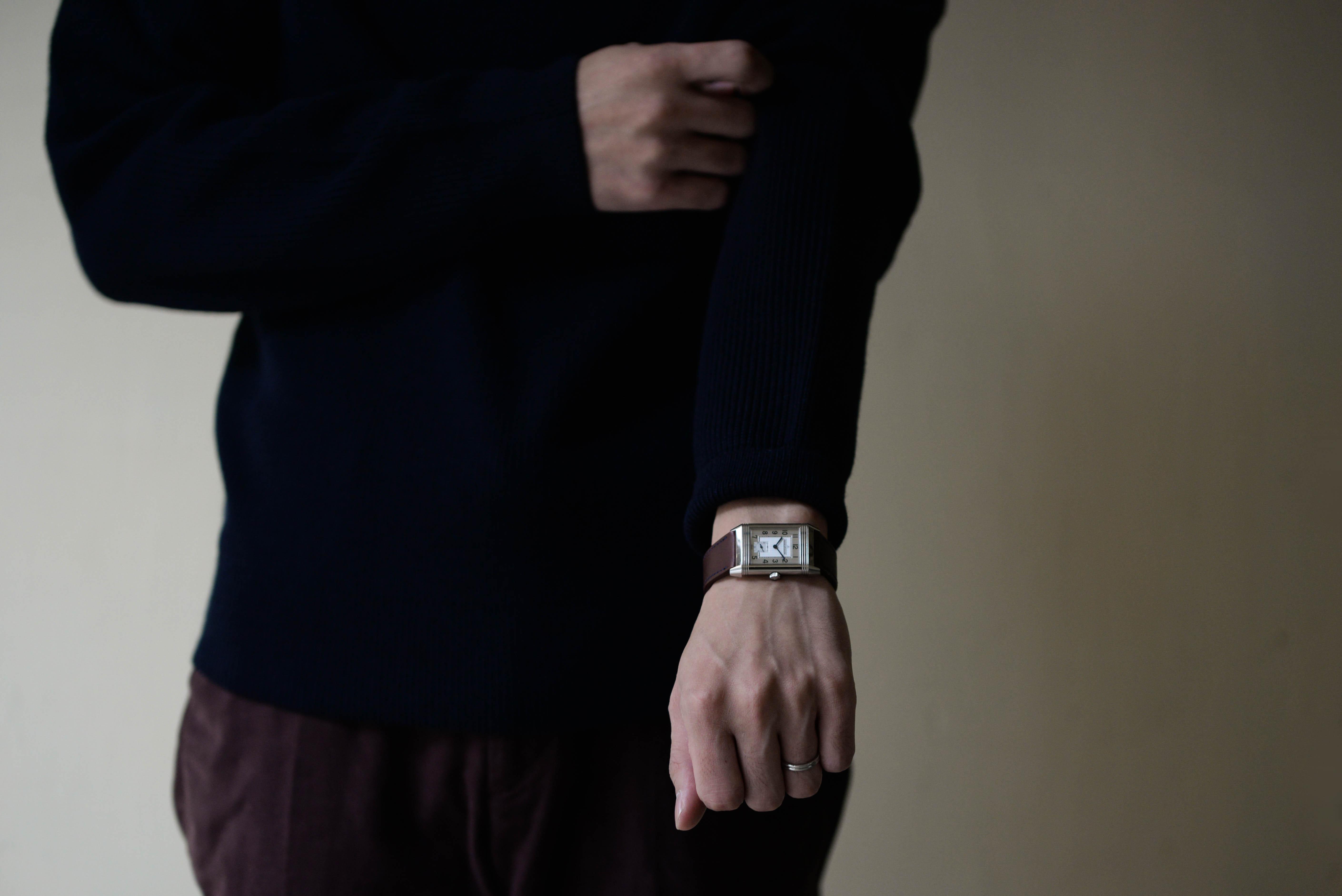 この腕時計も吟味して長く使えるもの