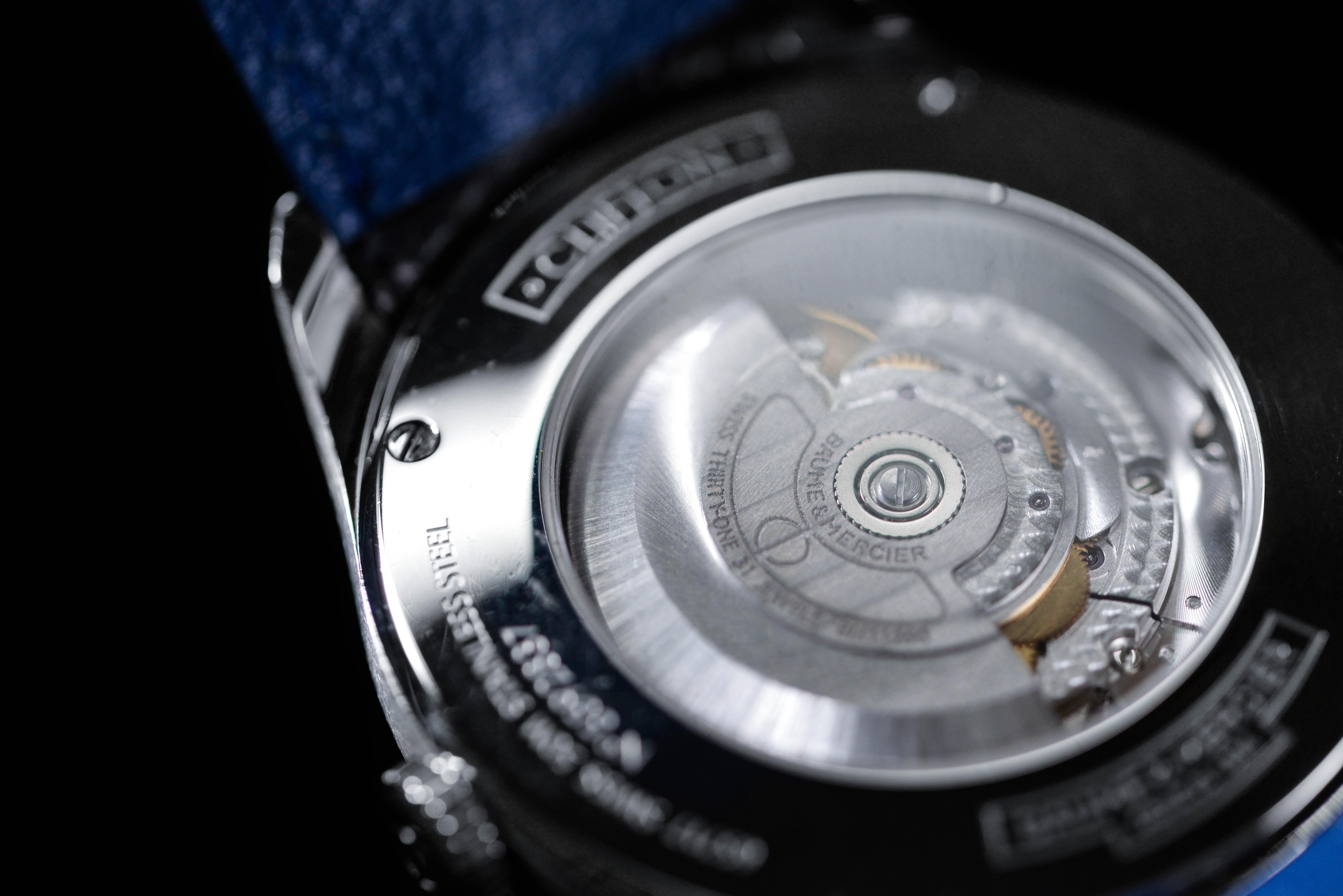 クリフトンの機会式腕時計の音を聞いて癒される