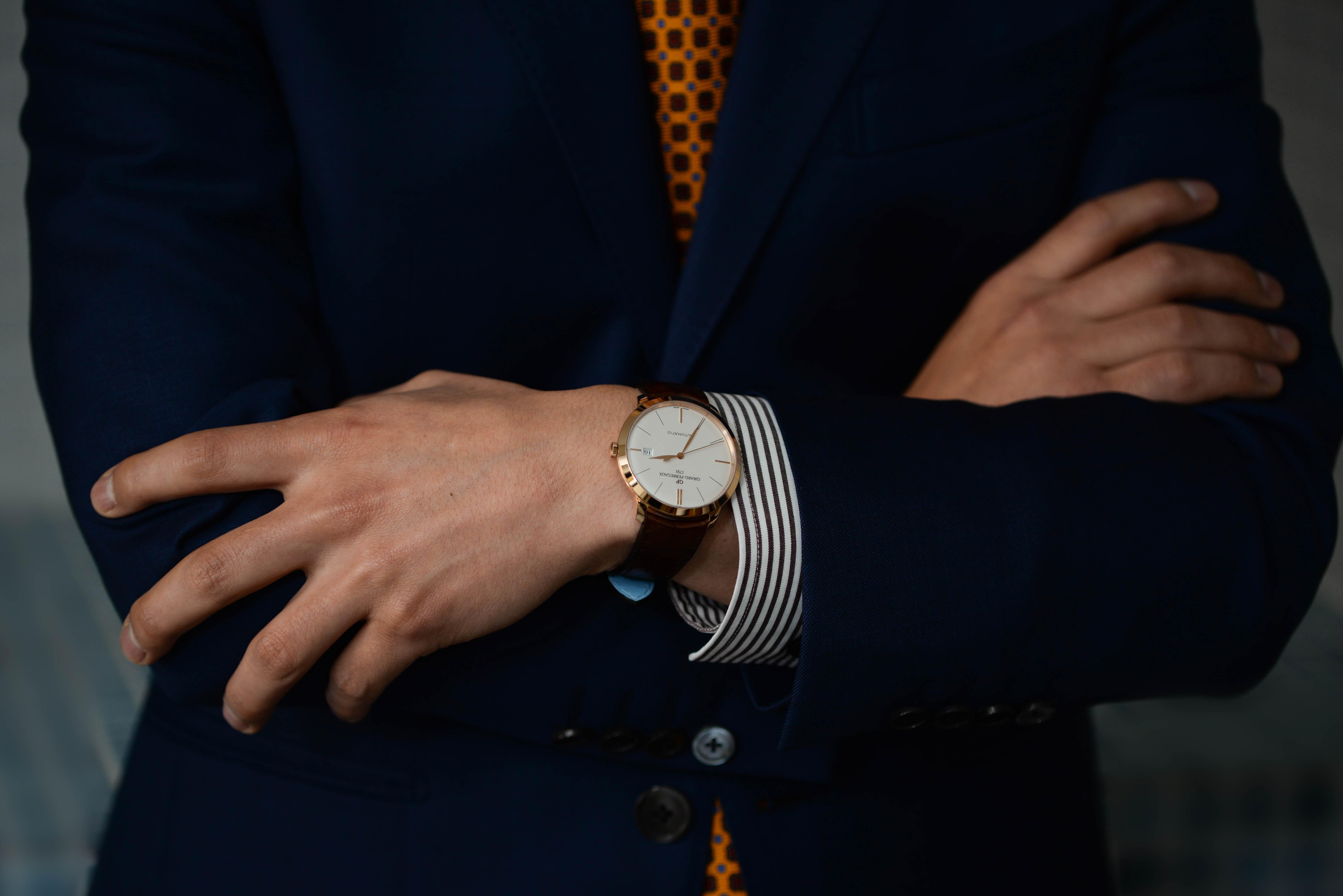 斎藤さんの腕時計は1966