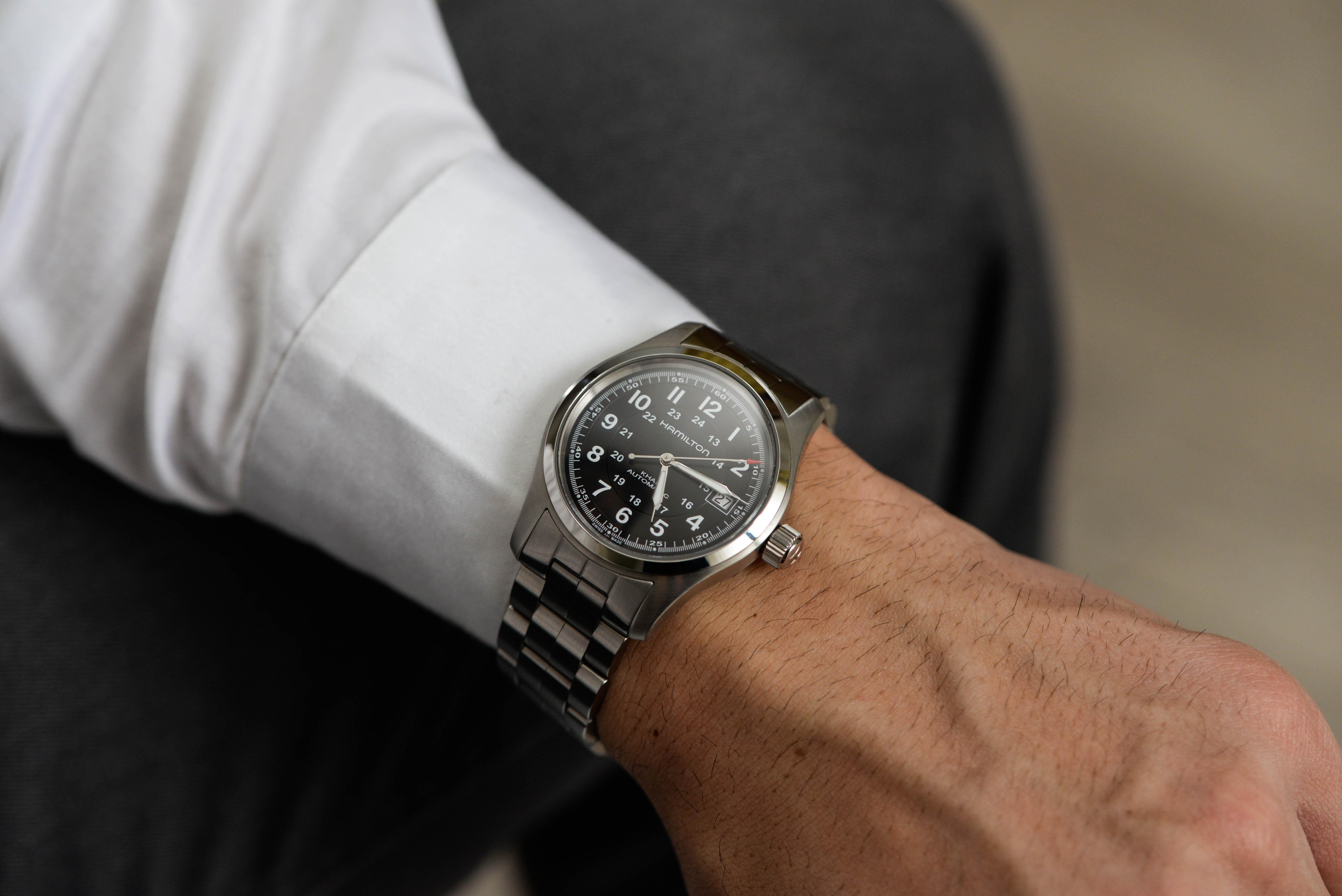 大人といえば、腕時計?