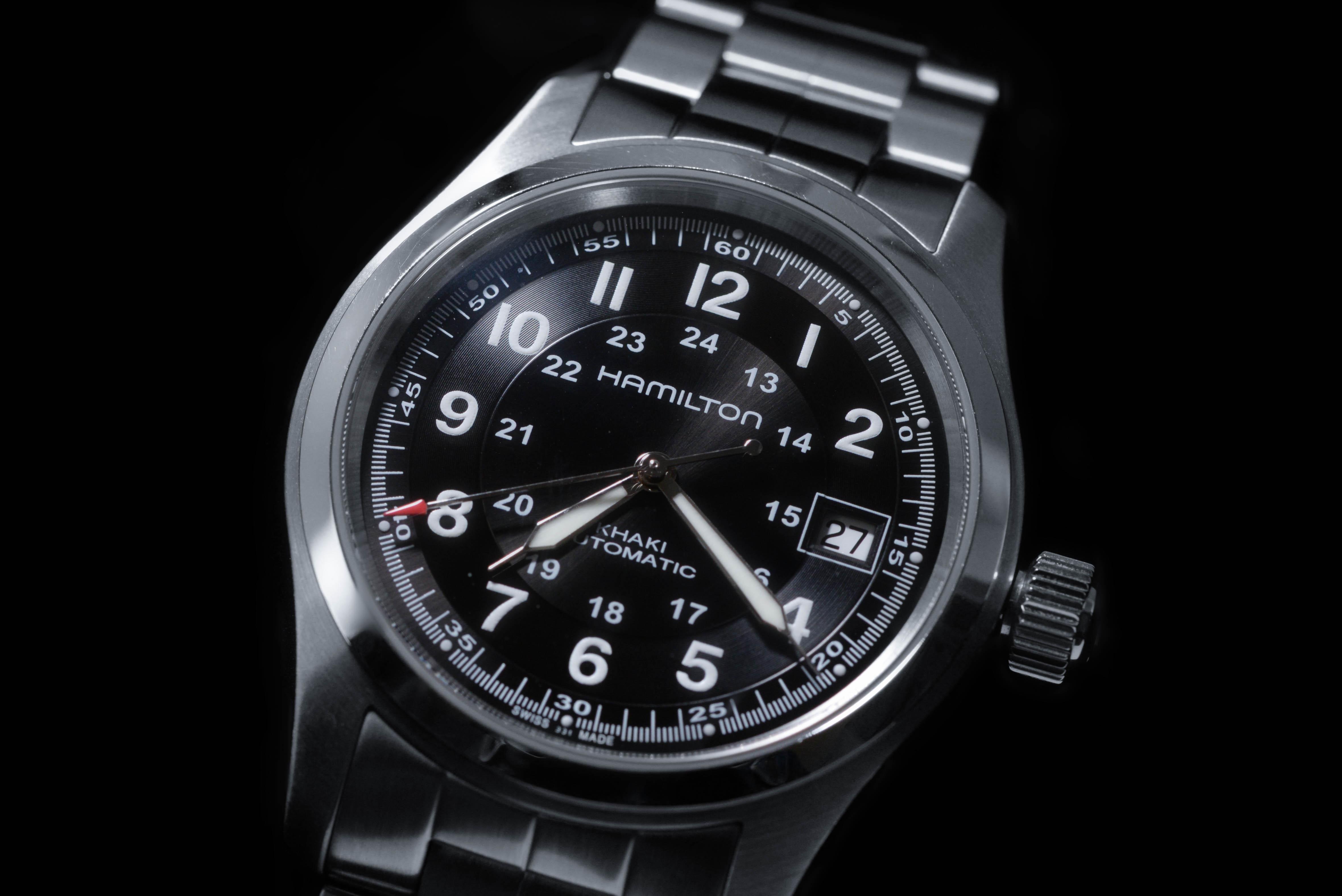 リュウノリタカさんの腕時計はハミルトン カーキ フィールド オート Ref.H70455133