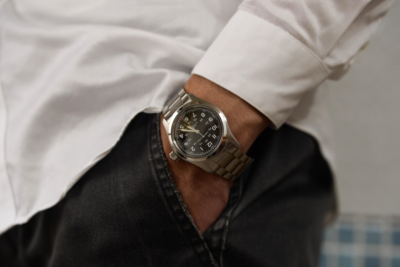 腕時計に興味をもちはじめたのは、20歳