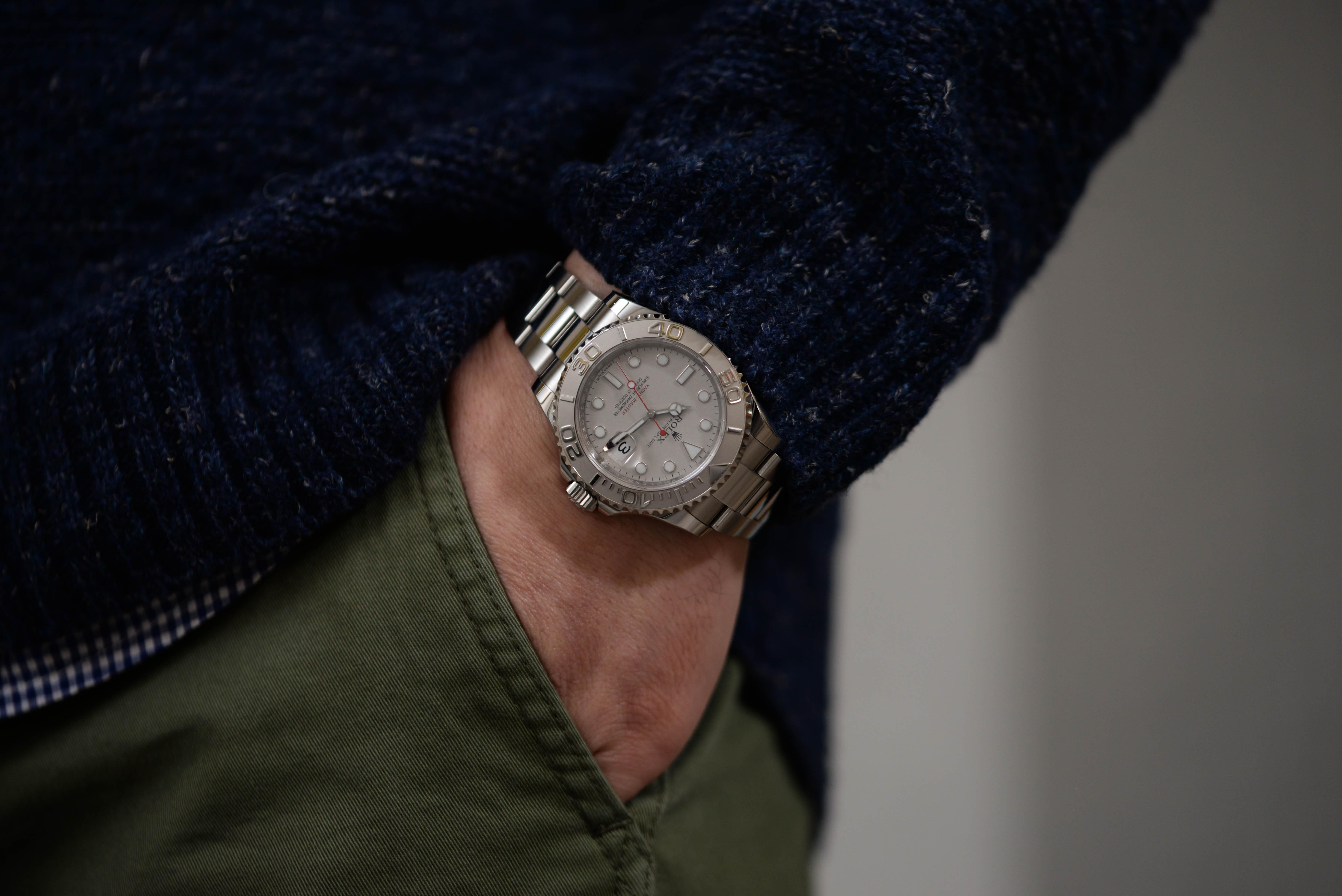 社長に腕時計の相談