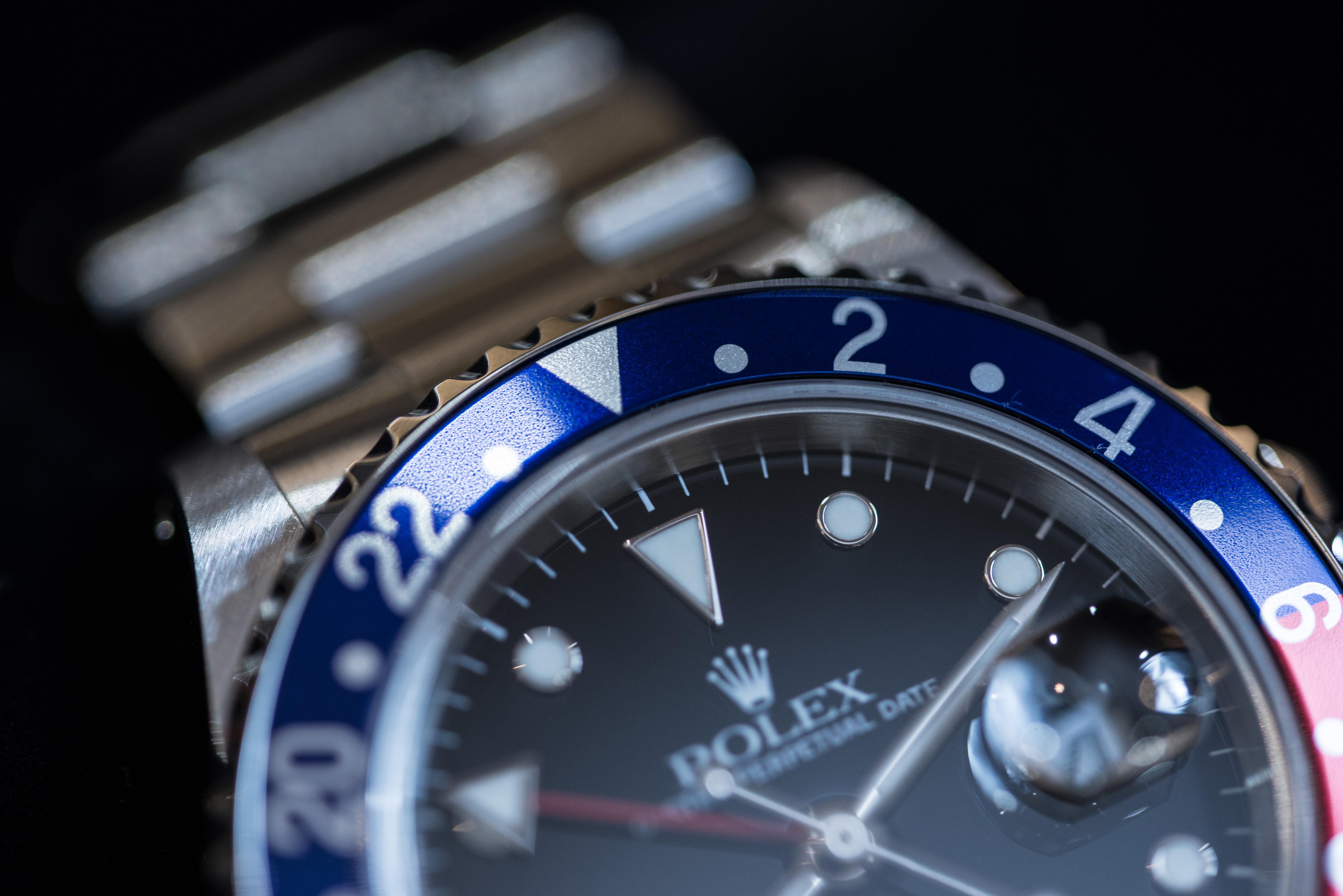 GMTマスターのベゼル3