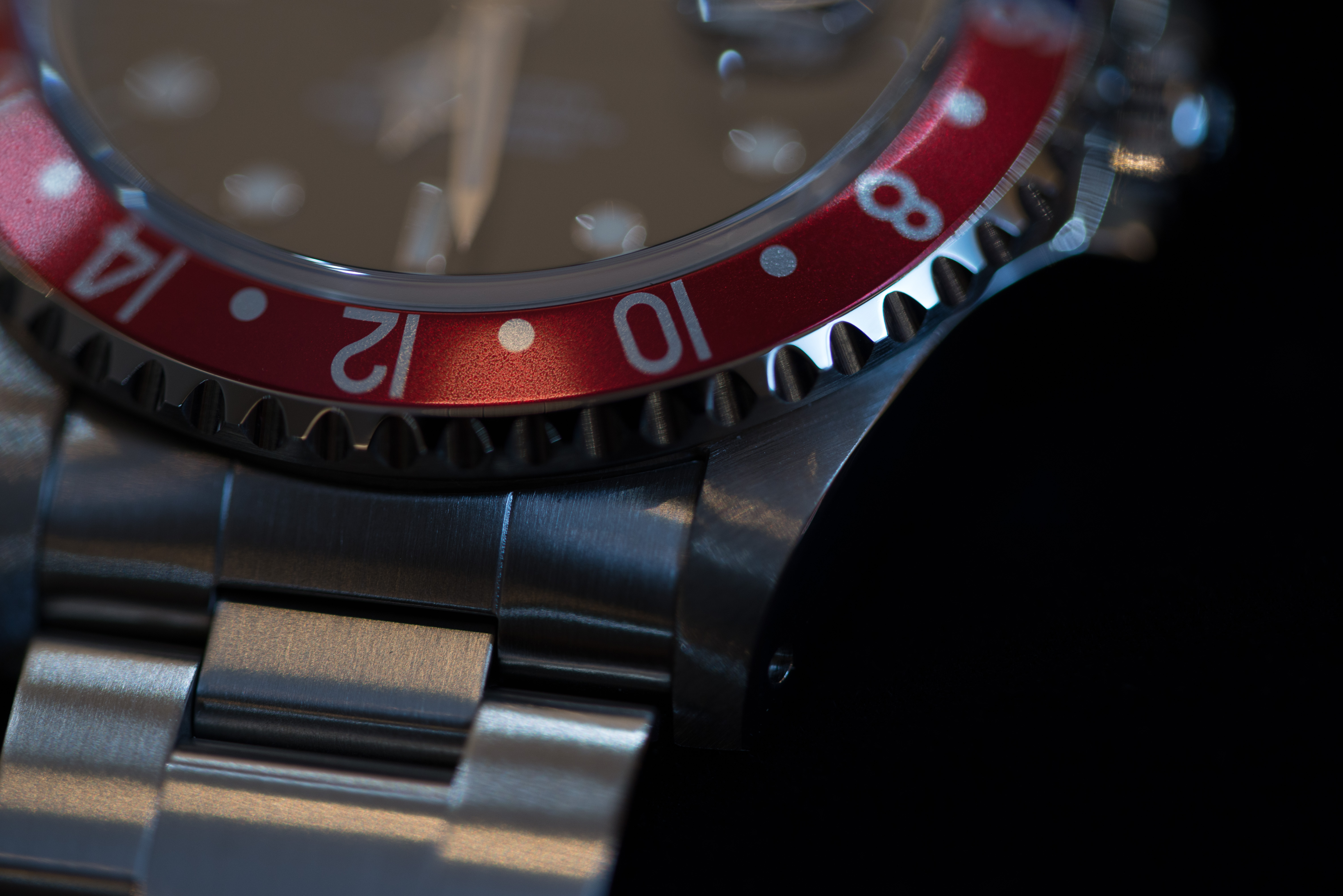 GMTマスターのベゼル1
