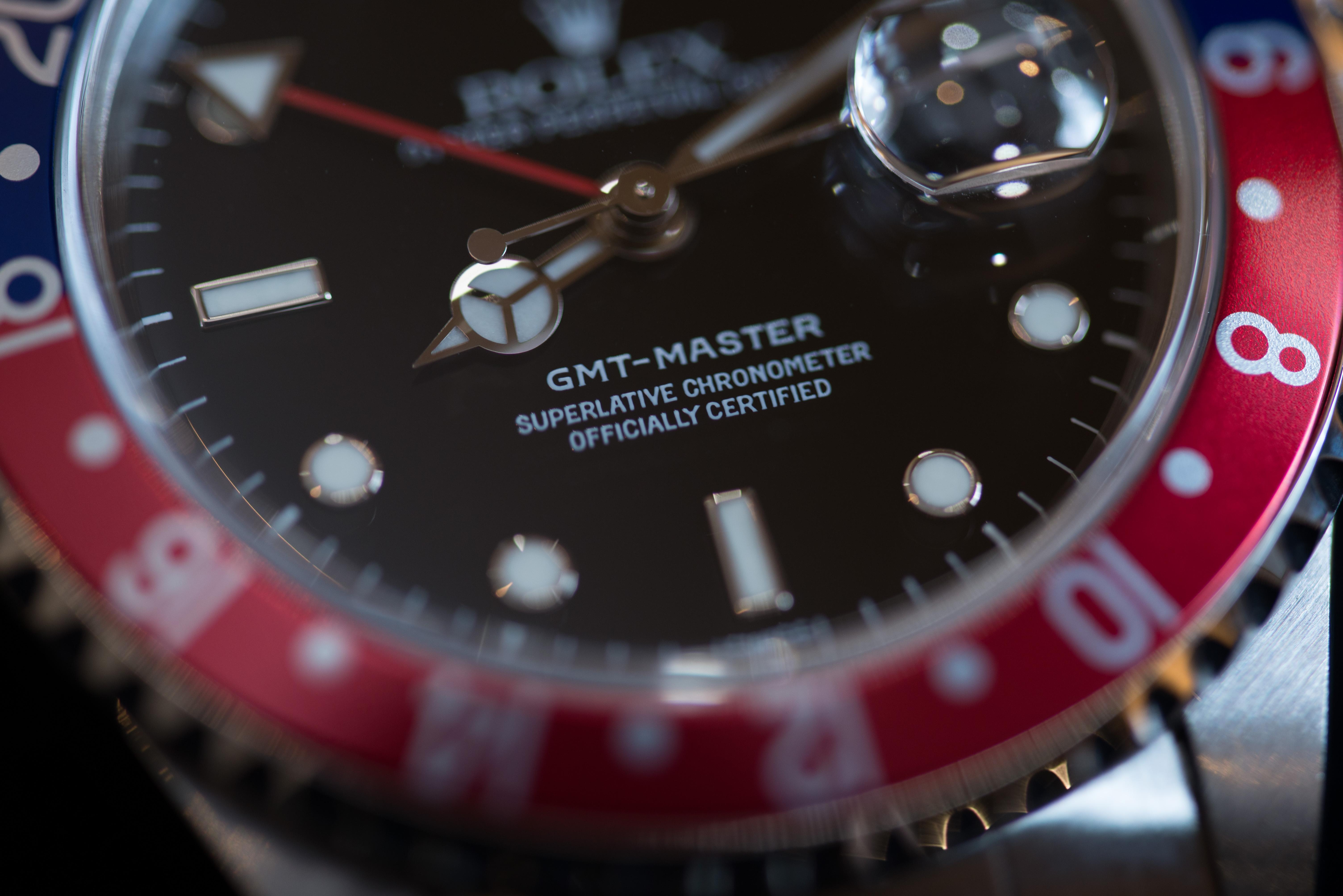 GMTマスターのベゼル2