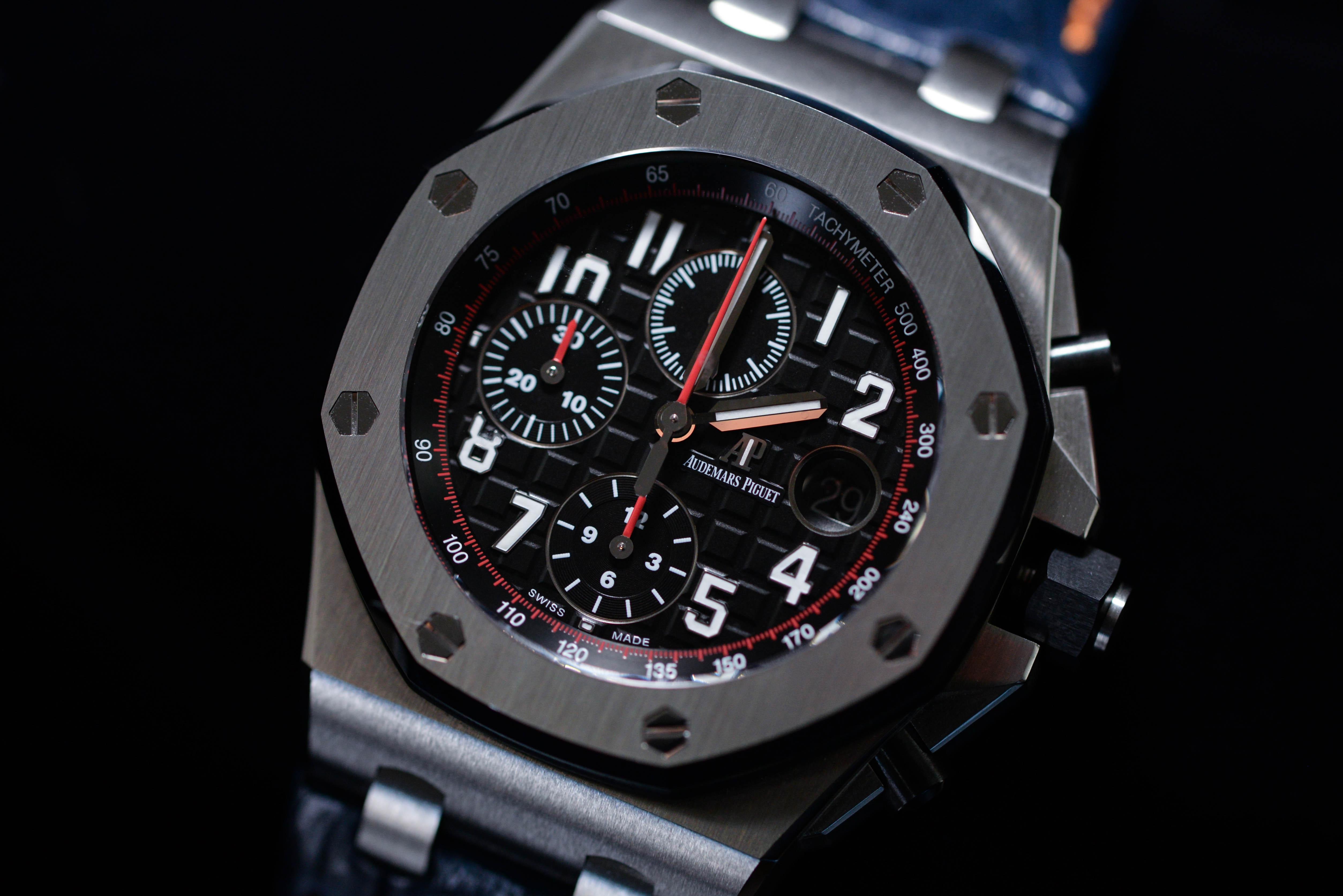よーさんの腕時計はオーデマ ピゲ ロイヤル オーク オフショア クロノグラフ Ref.26470ST.OO.A101CR.01