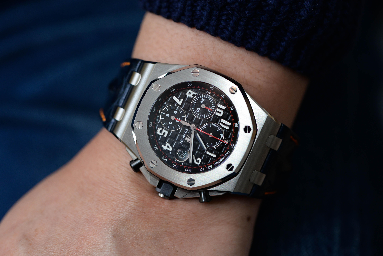 小さいときから腕時計が好き
