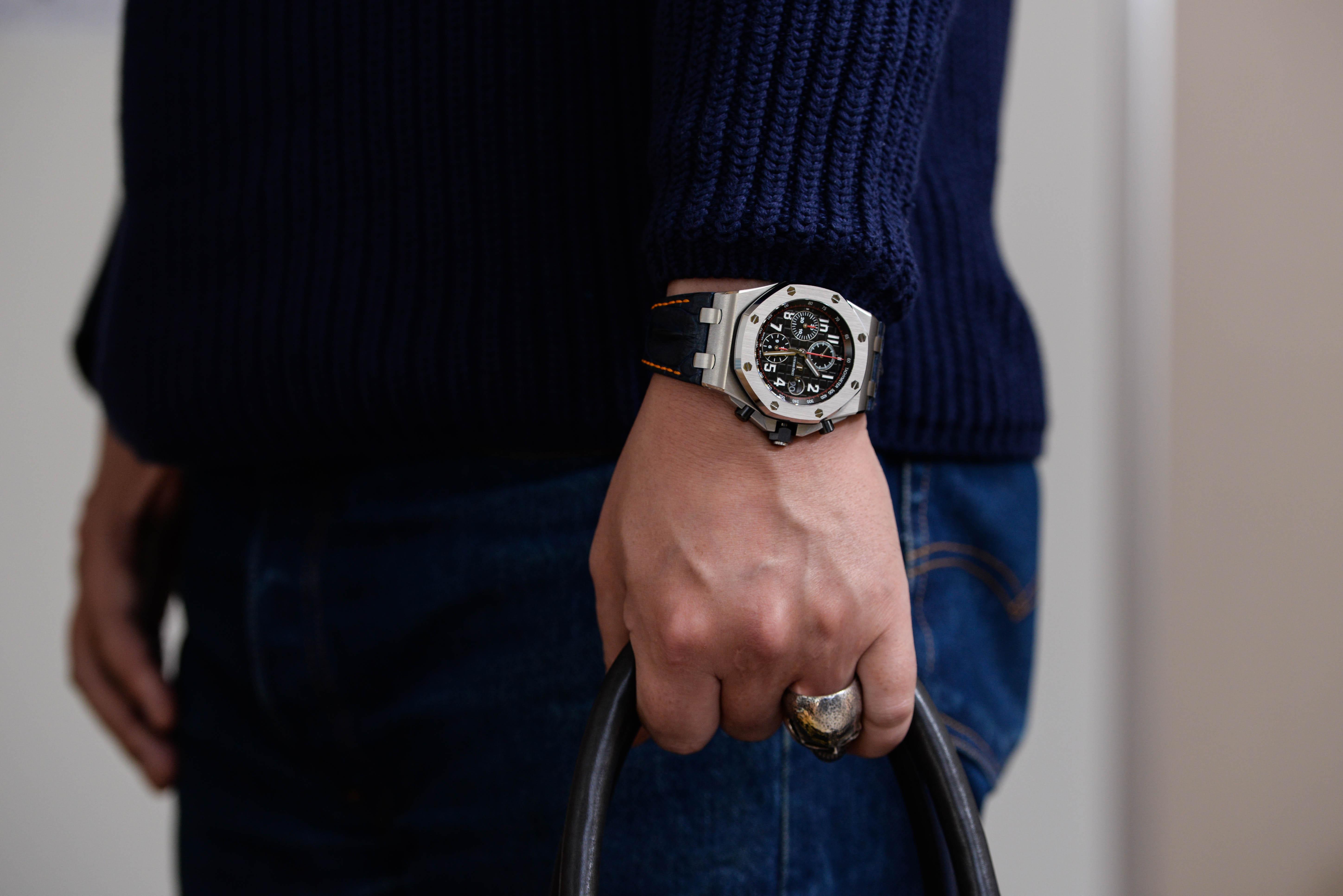 最初はディズニーの腕時計