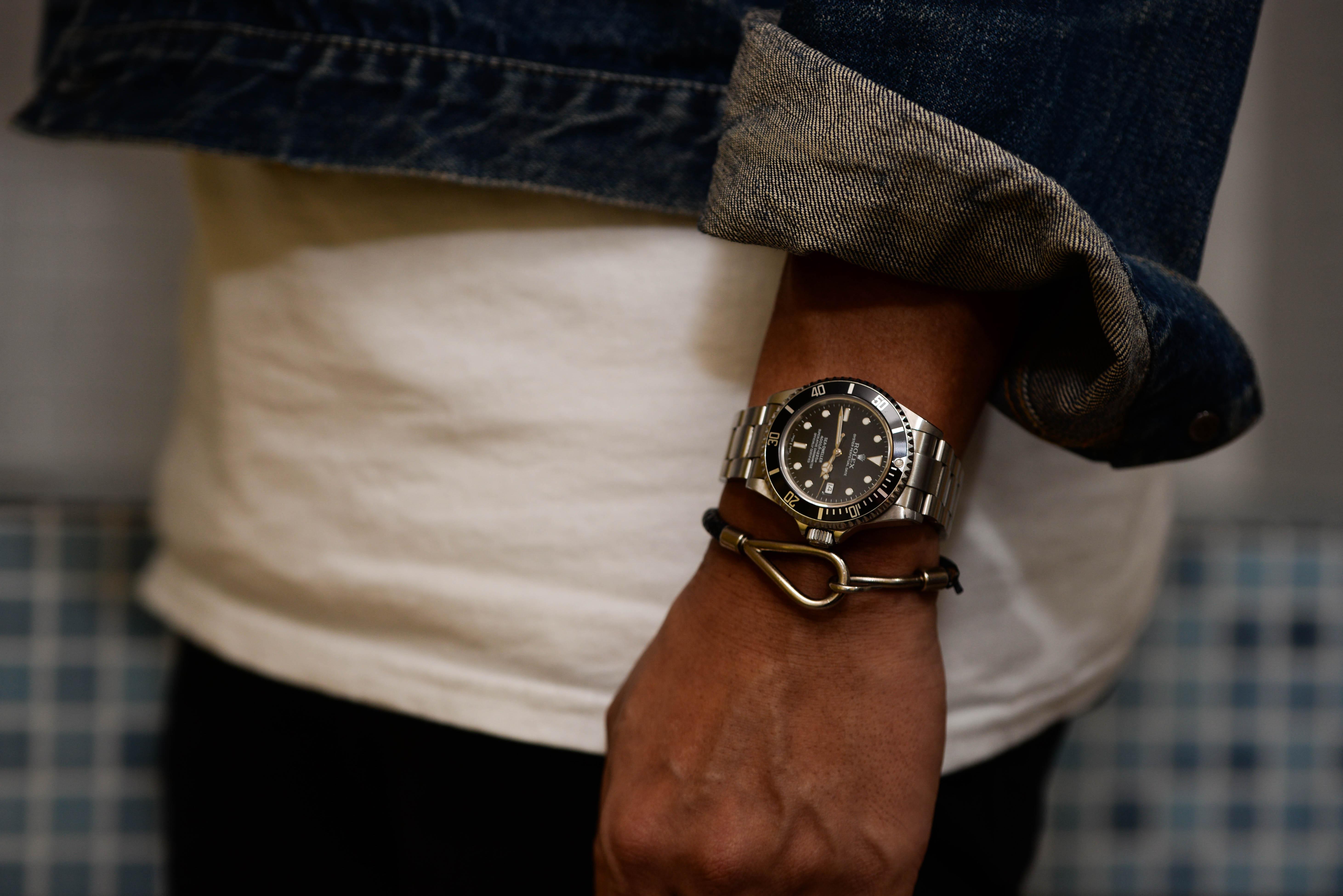 機会式腕時計に興味をもった