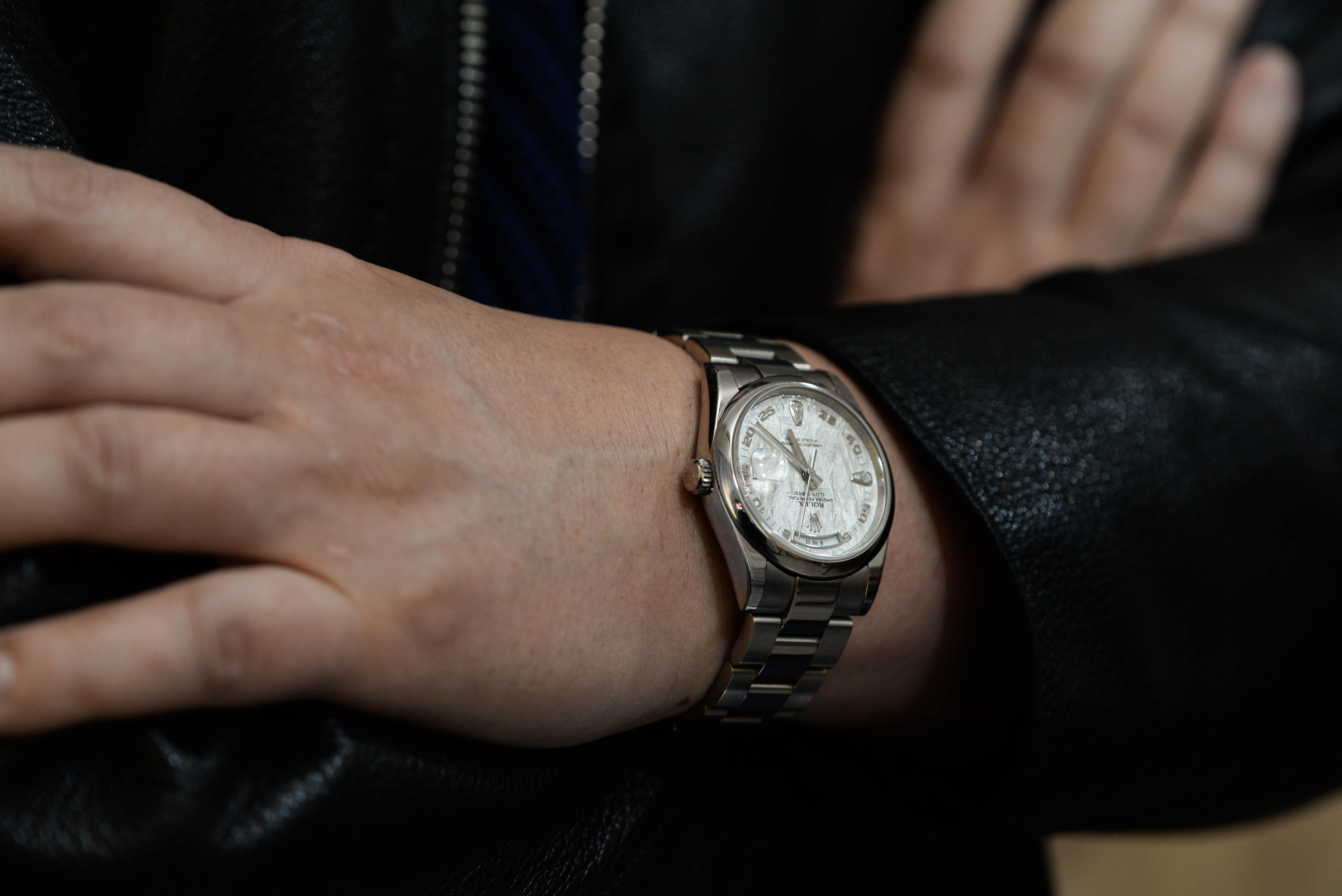 よーさんの腕時計はデイデイト メテオライト