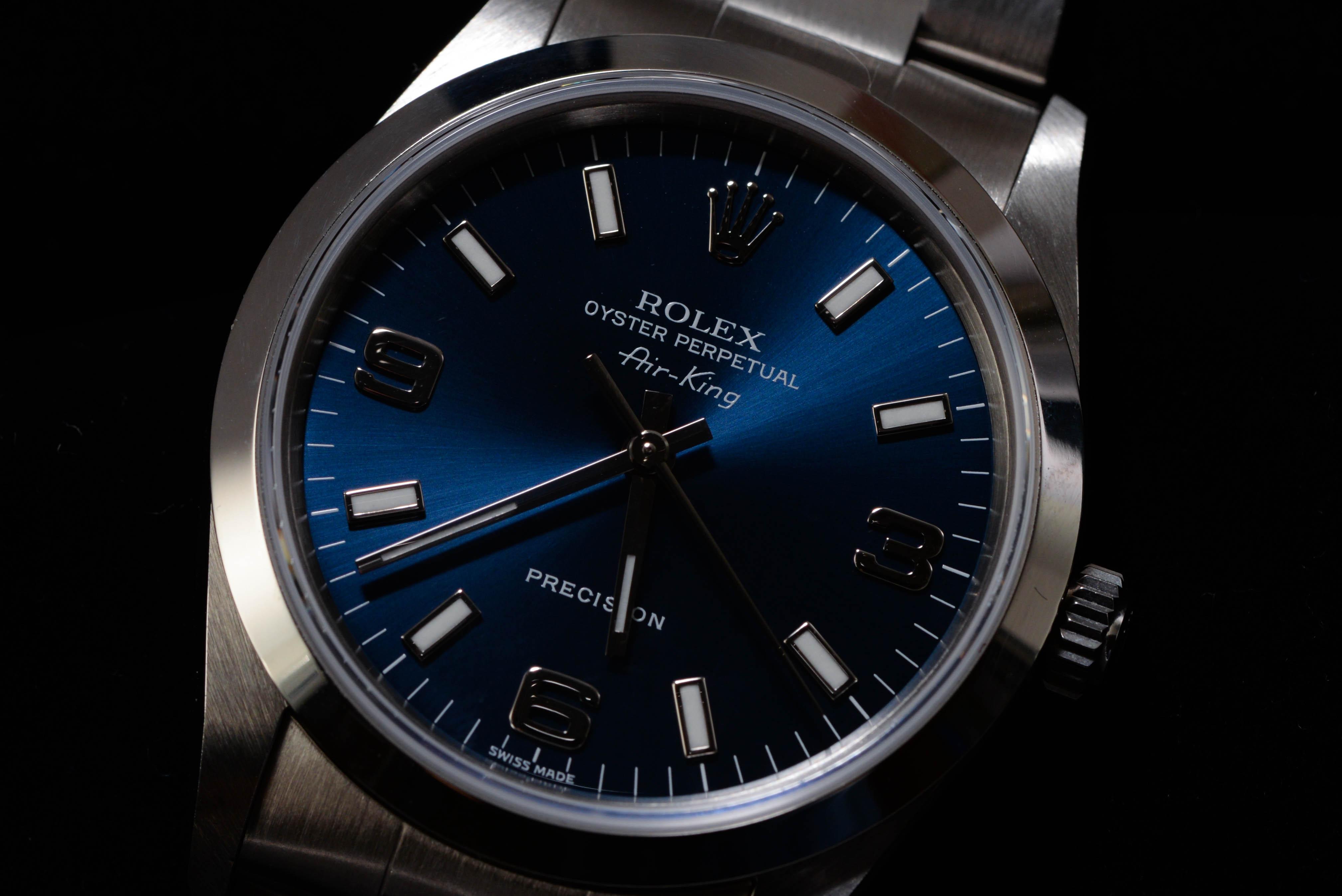 saluki_sさんの腕時計はロレックスのエアキング Ref.14000