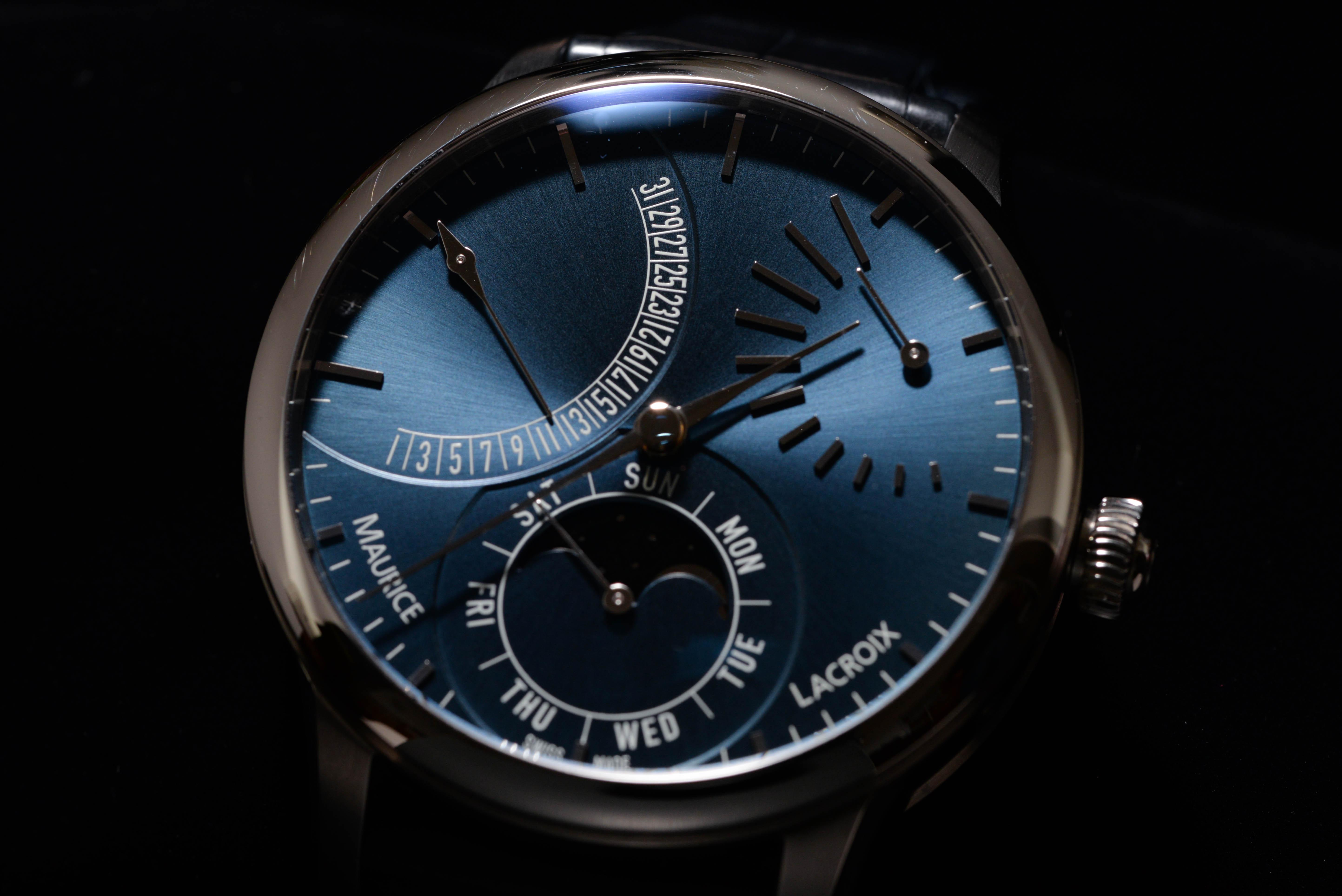 舘野さんの腕時計はモーリス ラクロア