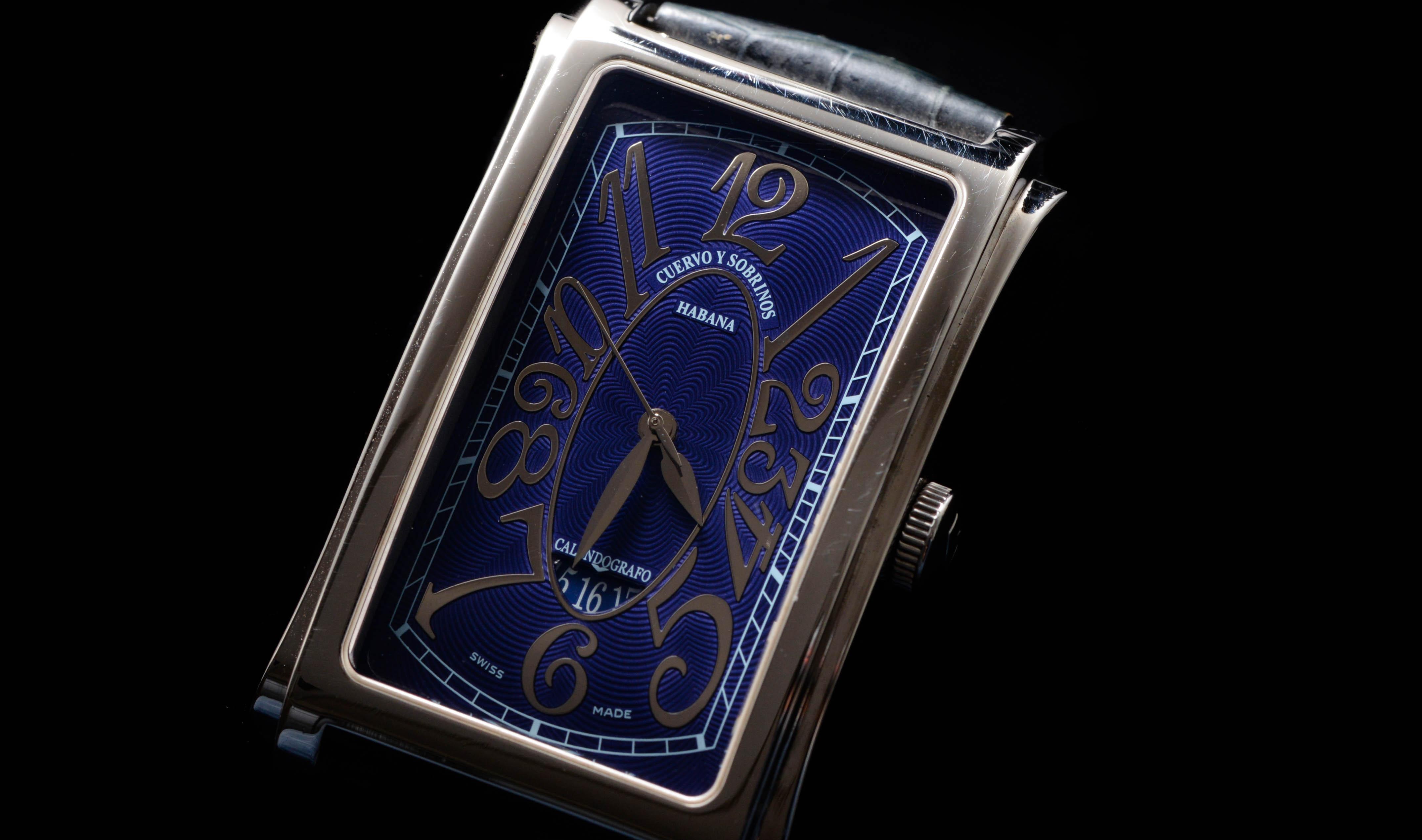 S.Hさんの腕時計はクエルボ・イ・ソブリノス プロミネンテ A1012 NUM 38409