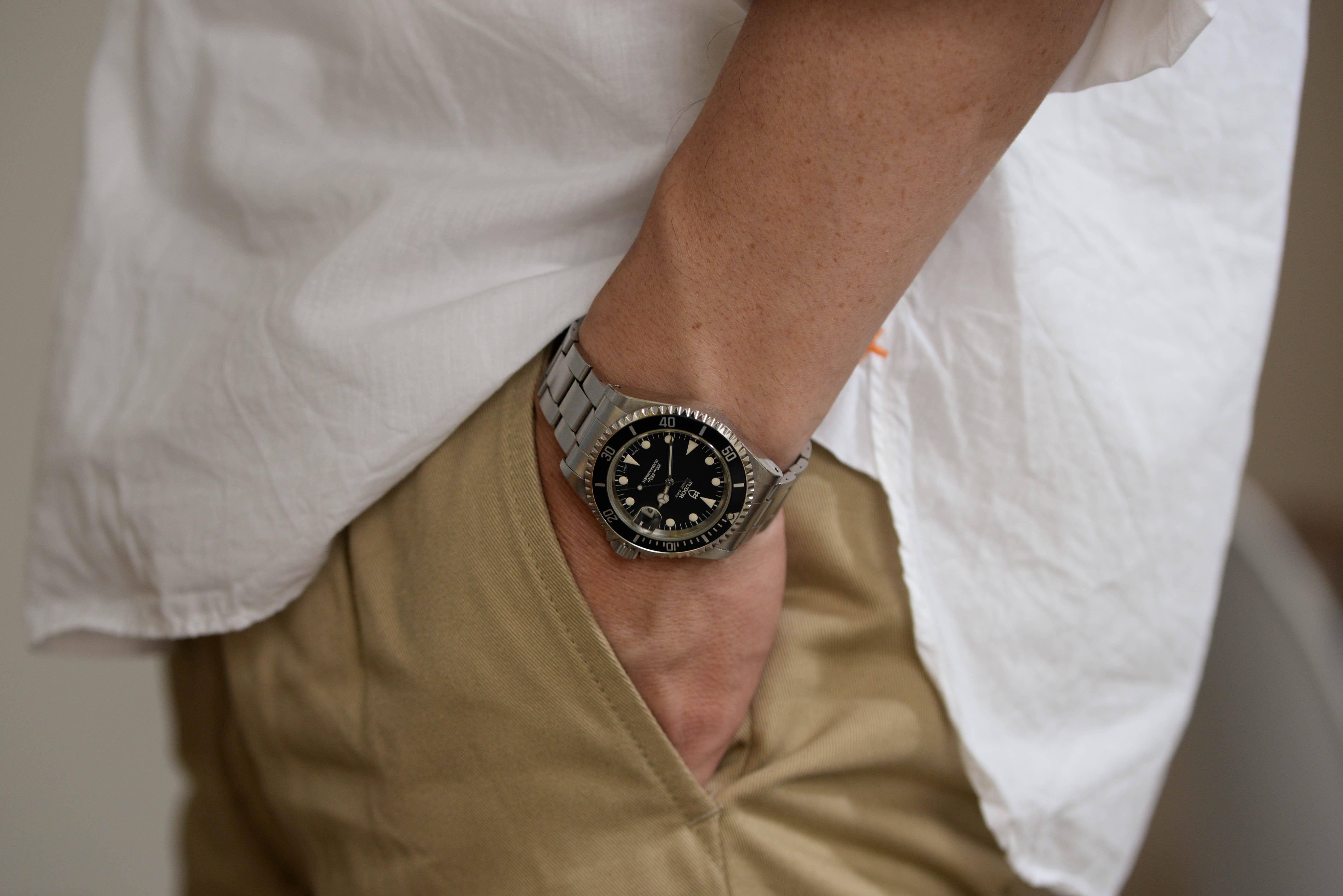 腕時計に興味を持ちました