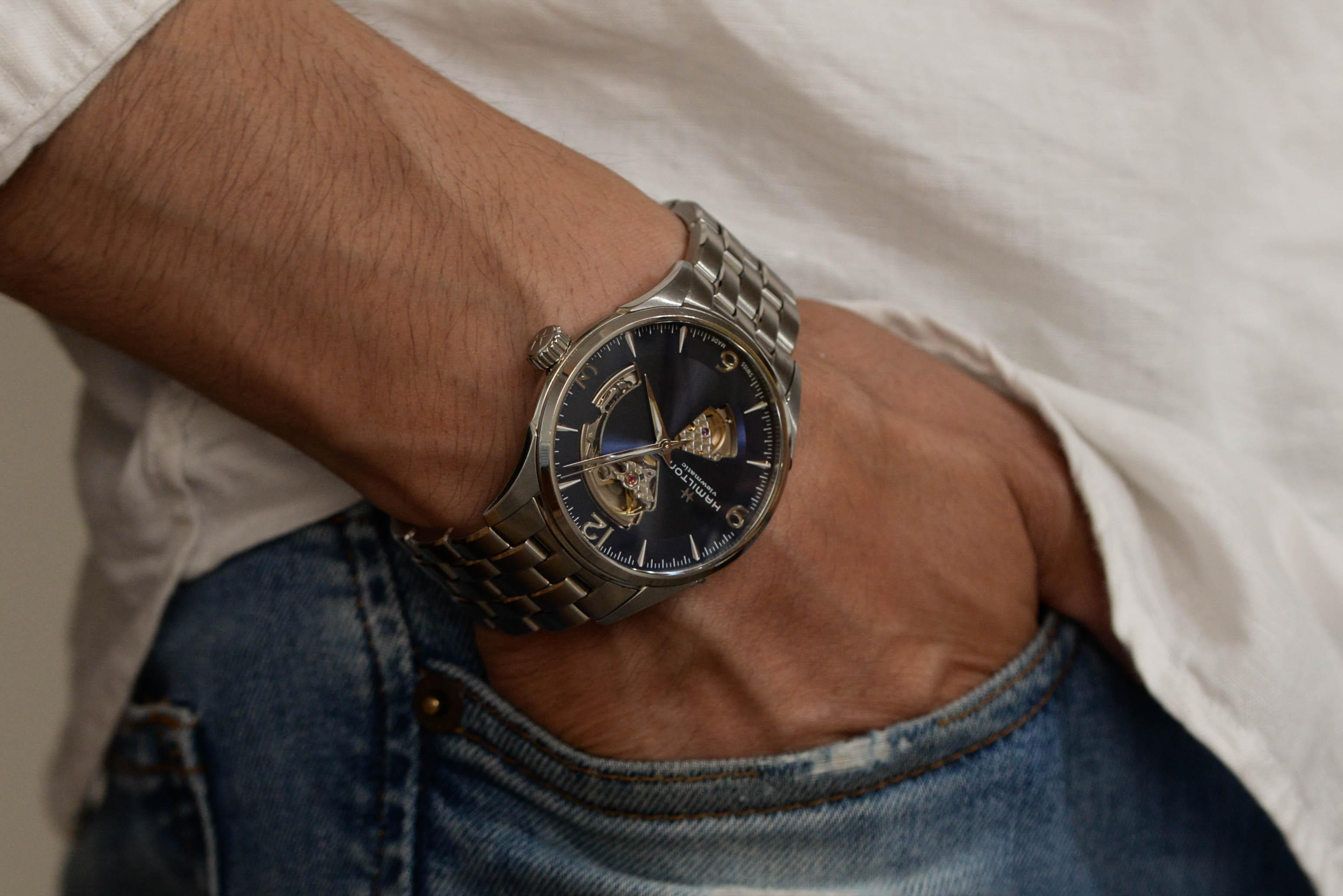 携帯電話ではなく腕時計